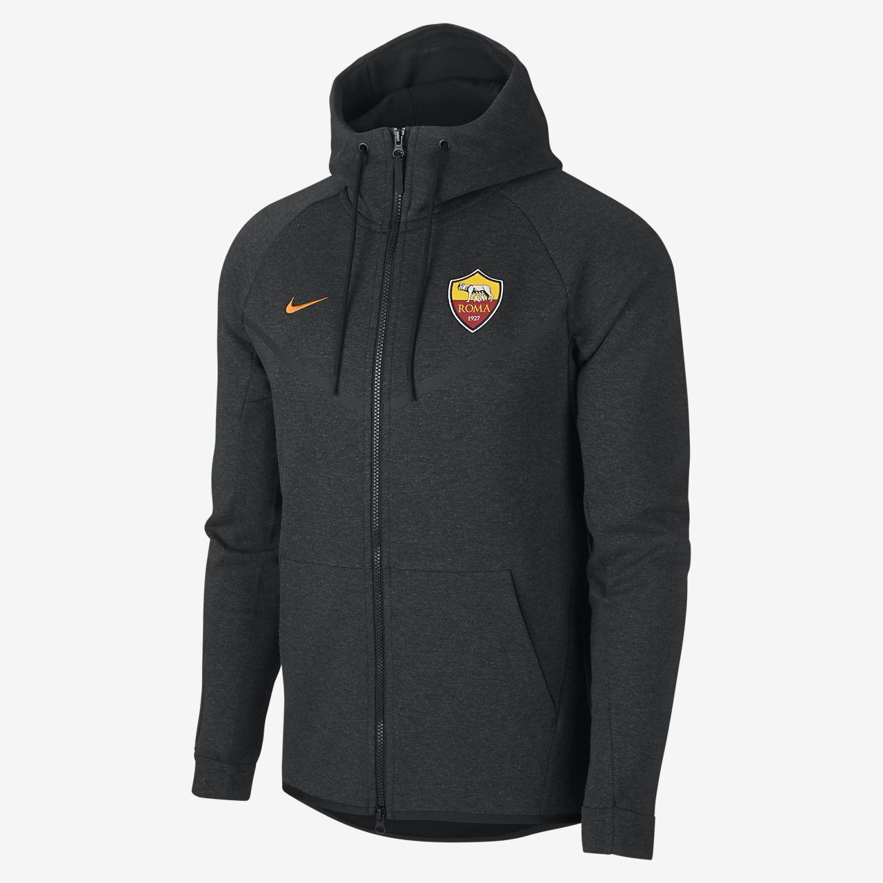 A.S. Roma Tech Fleece Windrunner Men's Jacket