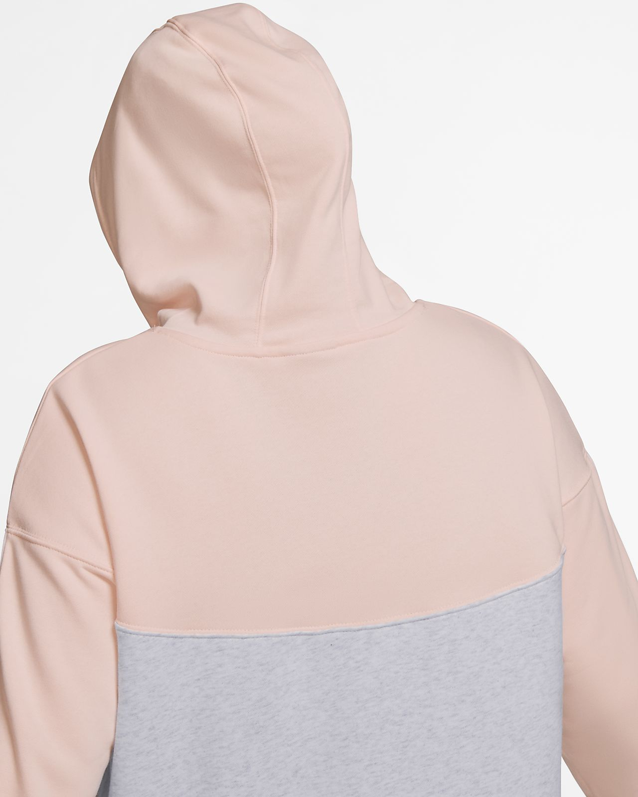 372b2b2d673c ... Vestido con capucha para mujer (talla grande) Nike Sportswear Heritage