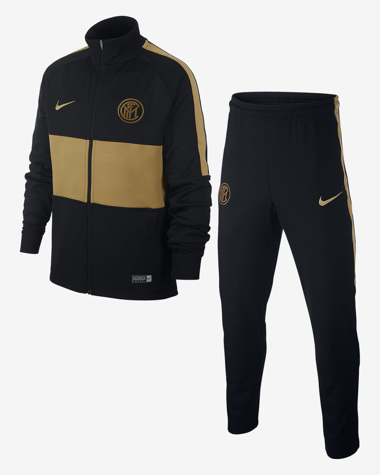 Fato de treino de futebol Nike Dri-FIT Inter Milan Strike Júnior