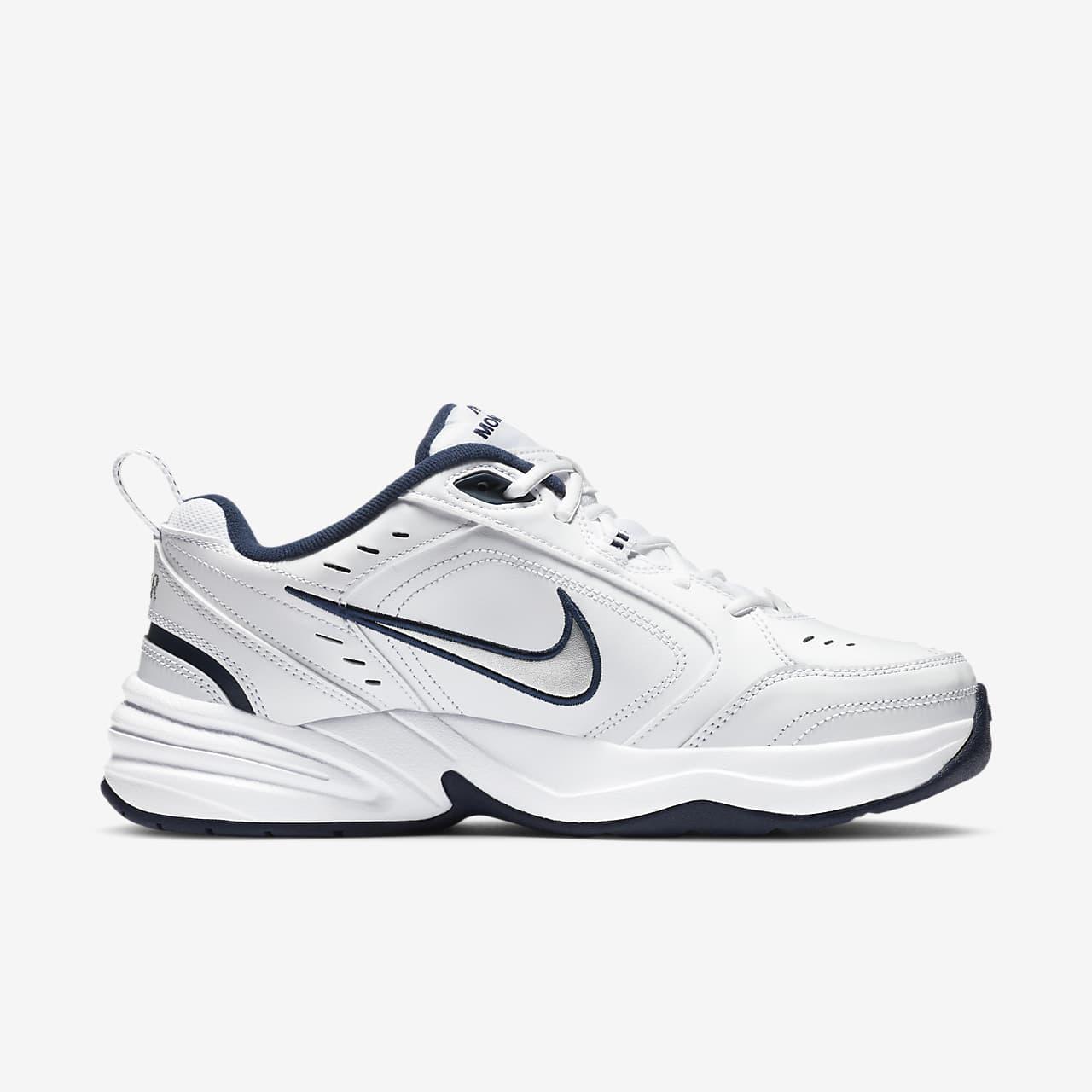 Nike Air Monarch Iv, Chaussures de Gymnastique Homme, Blanc (White/Black 101), 40.5 EU