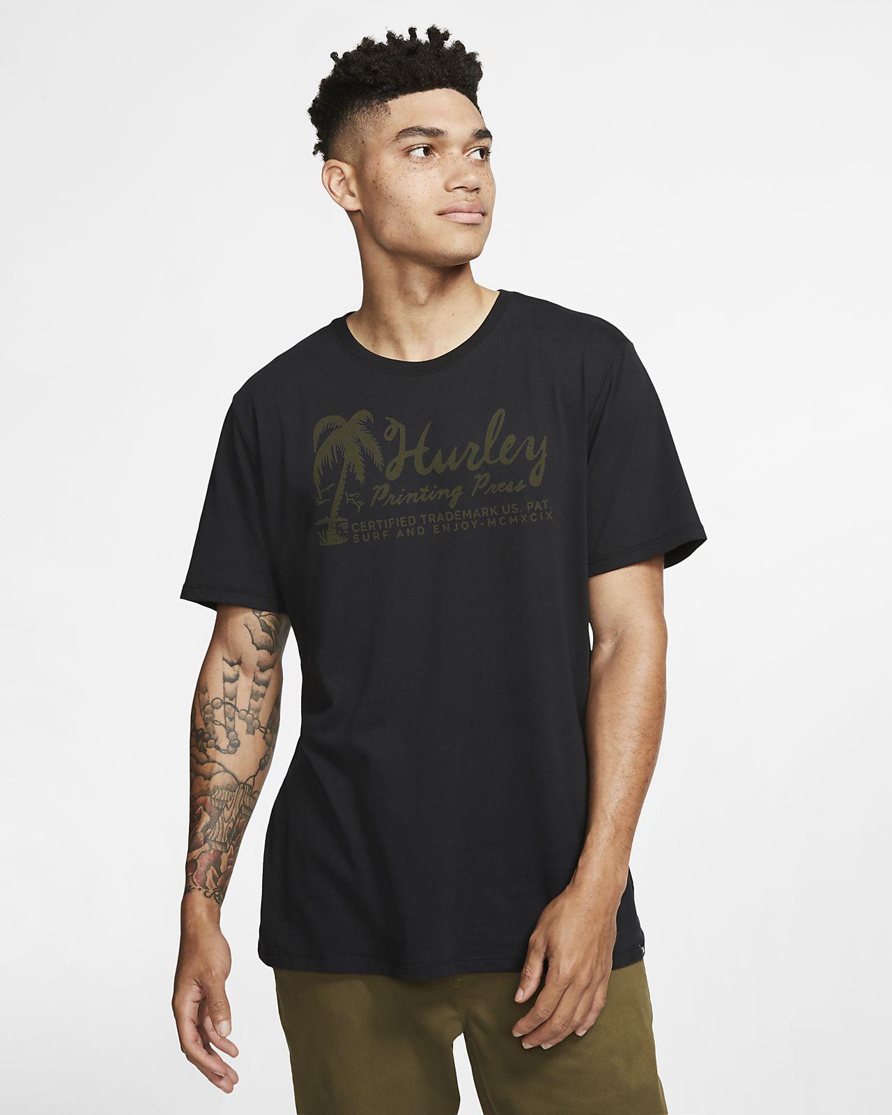T-shirt Premium Fit Hurley Dri-FIT Surf Imports - Uomo