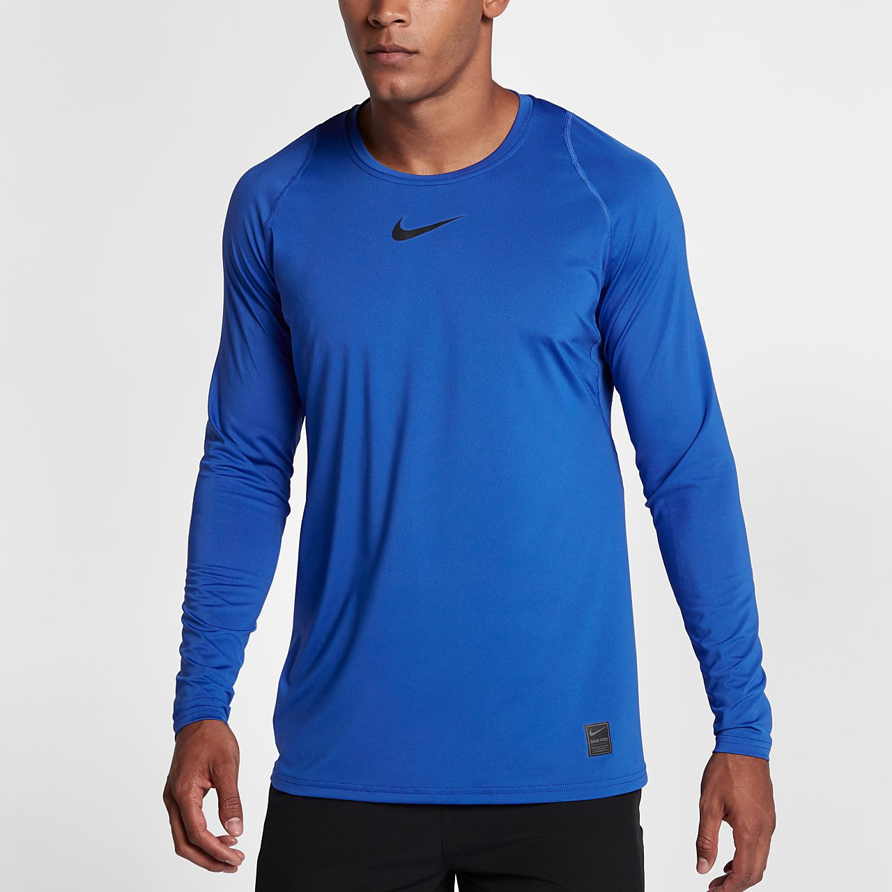 106e454b Nike Pro Men's Long-Sleeve Fitted Top. Nike.com