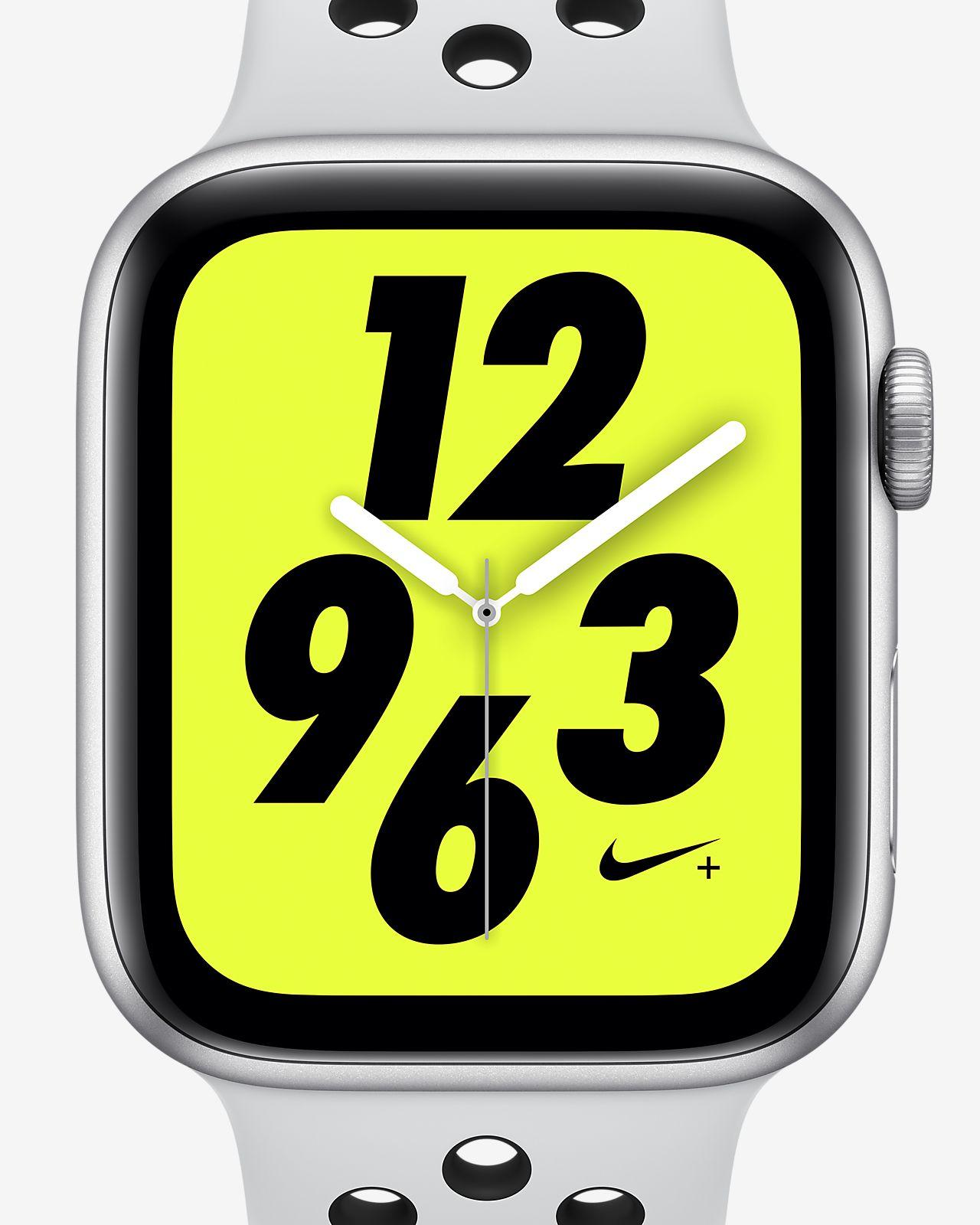 6c818fd7b Apple Watch Nike+ Series 4 (GPS) with Nike Sport Band 44mm Sport ...