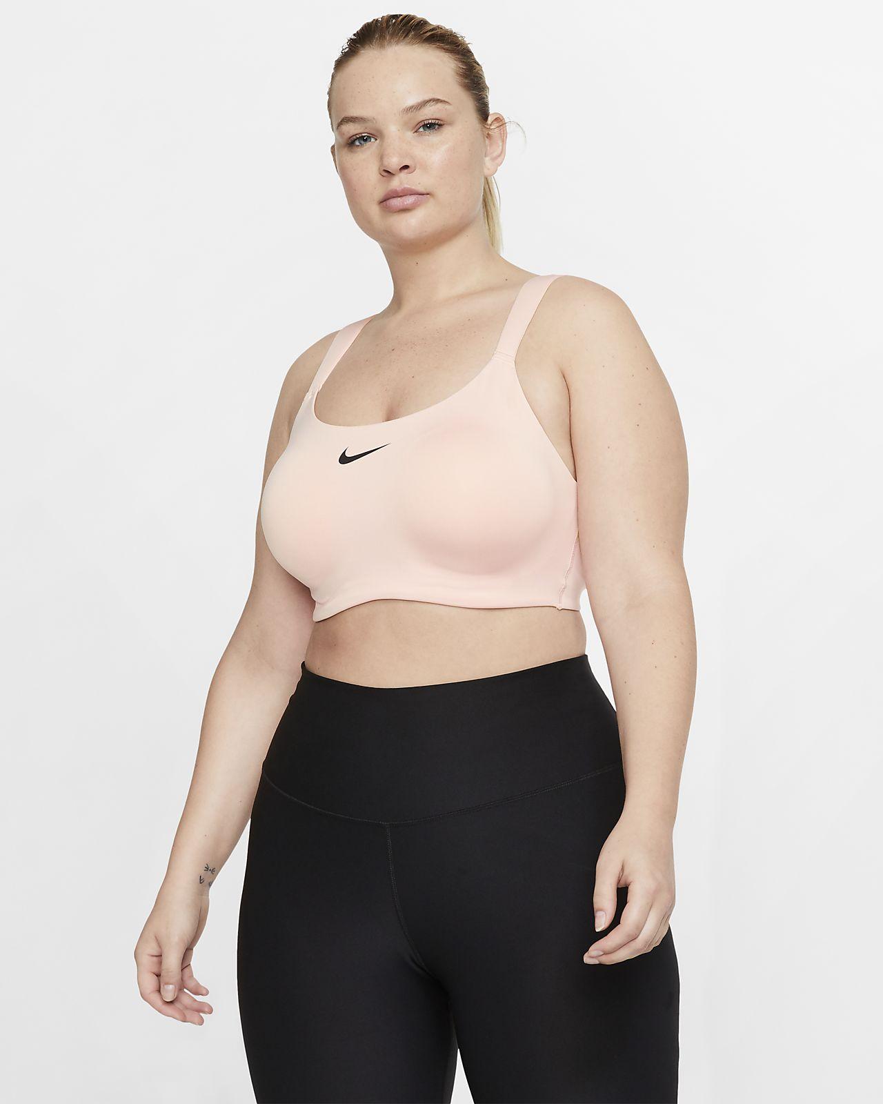 Sportovní podprsenka Nike Bold se silnou oporou (větší velikost)