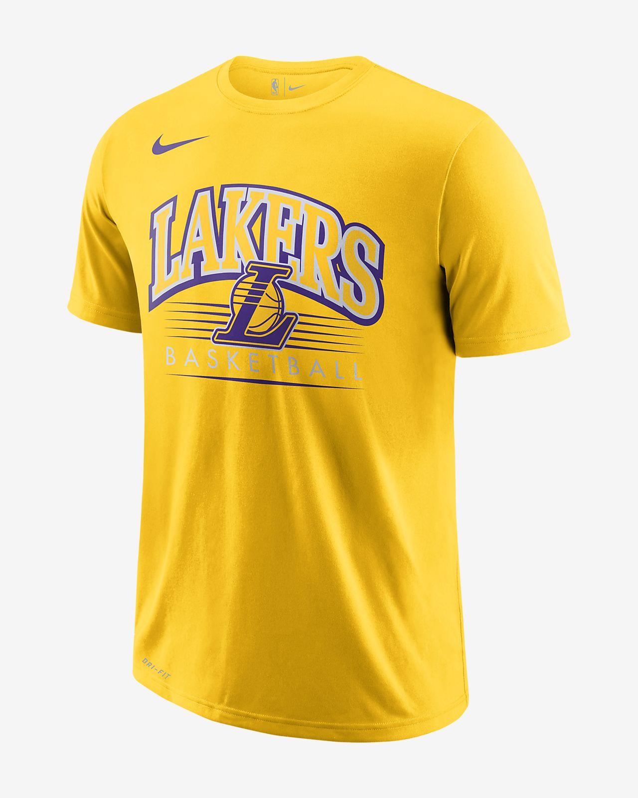 11175e5fd47 Los Angeles Lakers Nike Dri-FIT Men s NBA T-Shirt. Nike.com DK