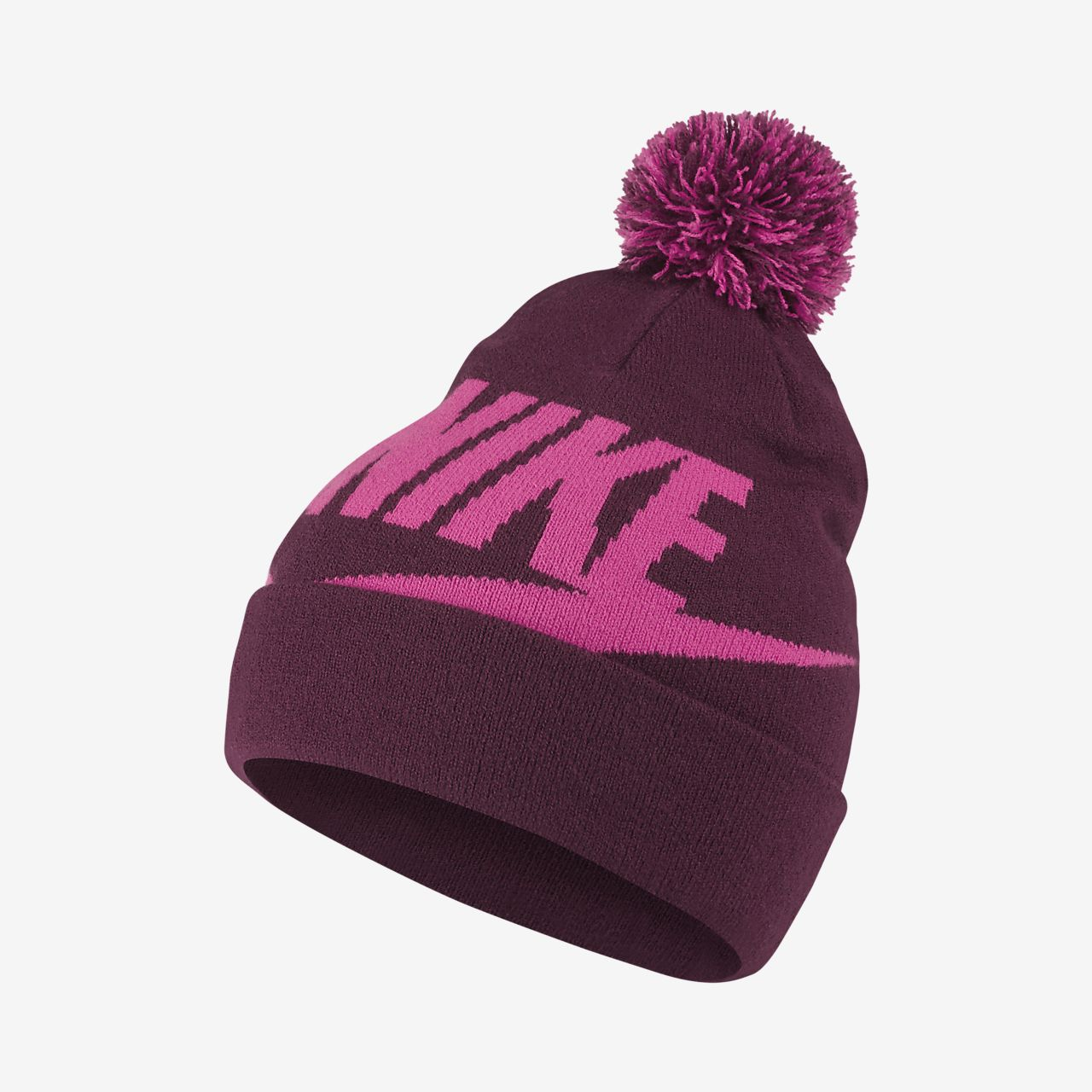 premium selection 39561 f53a5 ... usa nike sportswear pom beanie older kids knit hat f9996 8a5aa ...