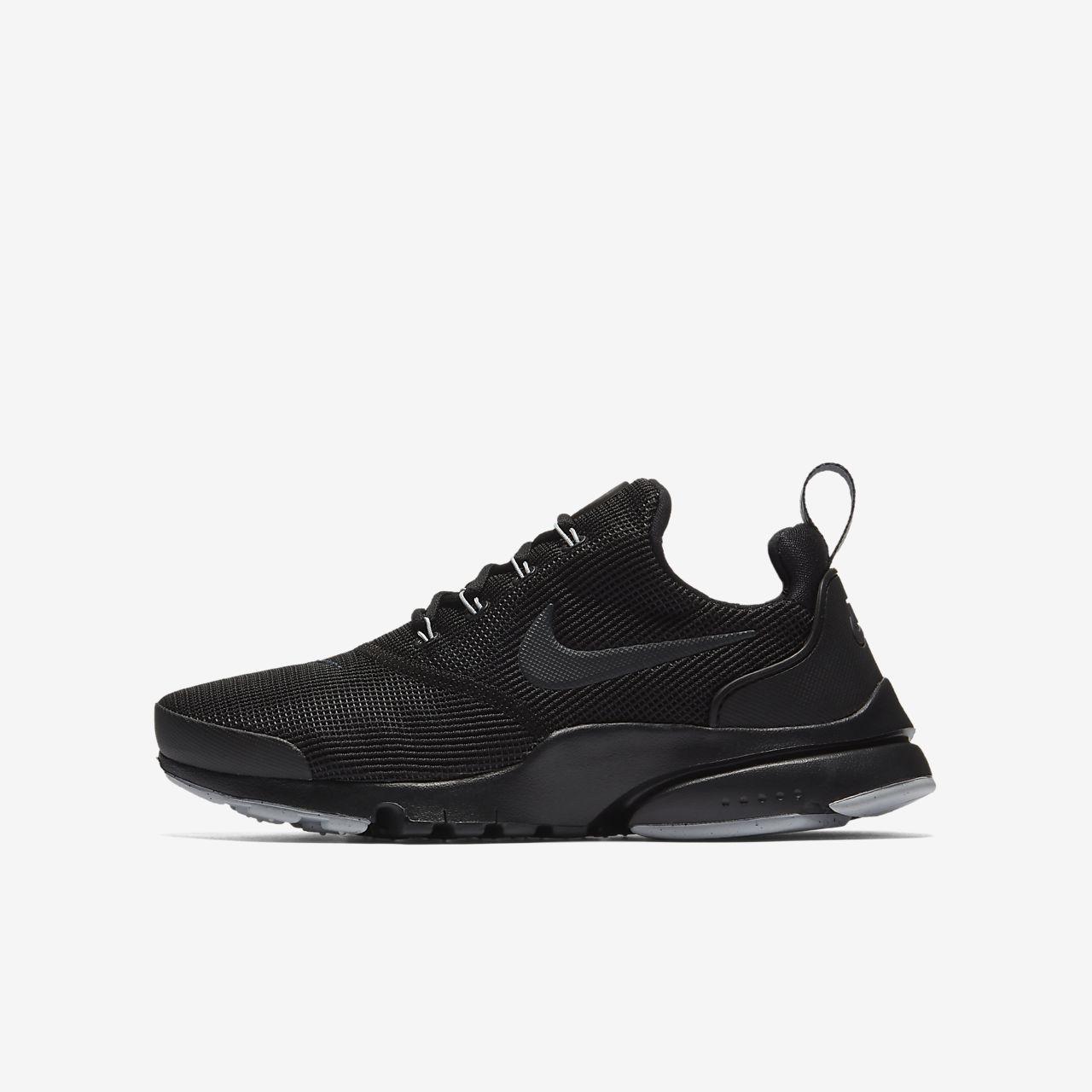 Nike Presto Fly Older Kids' Shoe Black MQ3357083