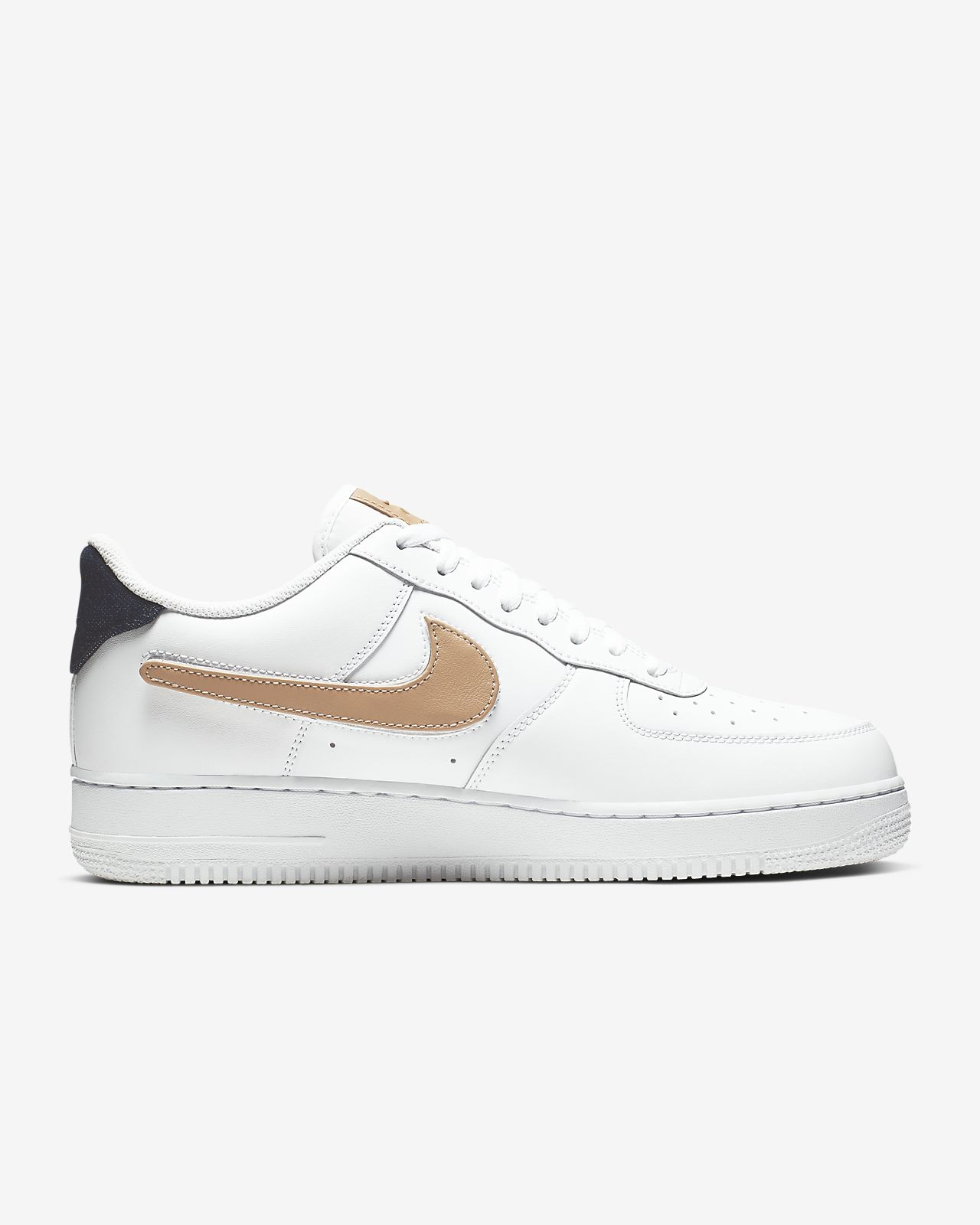 Scarpa Nike Air Force 1 '07 LV8 3 Removable Swoosh - Uomo