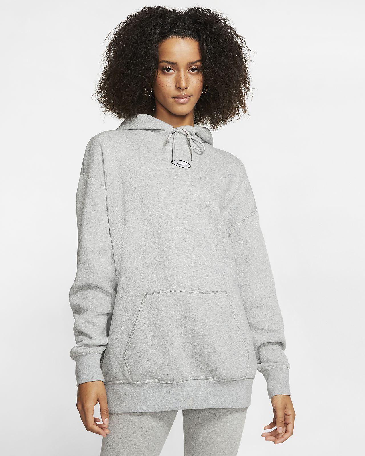Γυναικεία μπλούζα με κουκούλα Nike Sportswear Swoosh