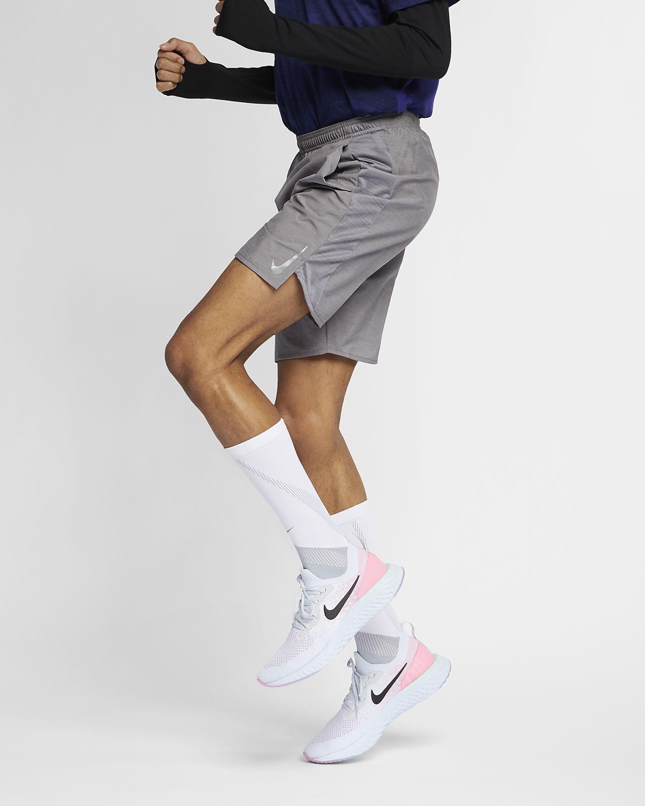 Löparshorts med innerbyxor Nike Challenger 23 cm för män