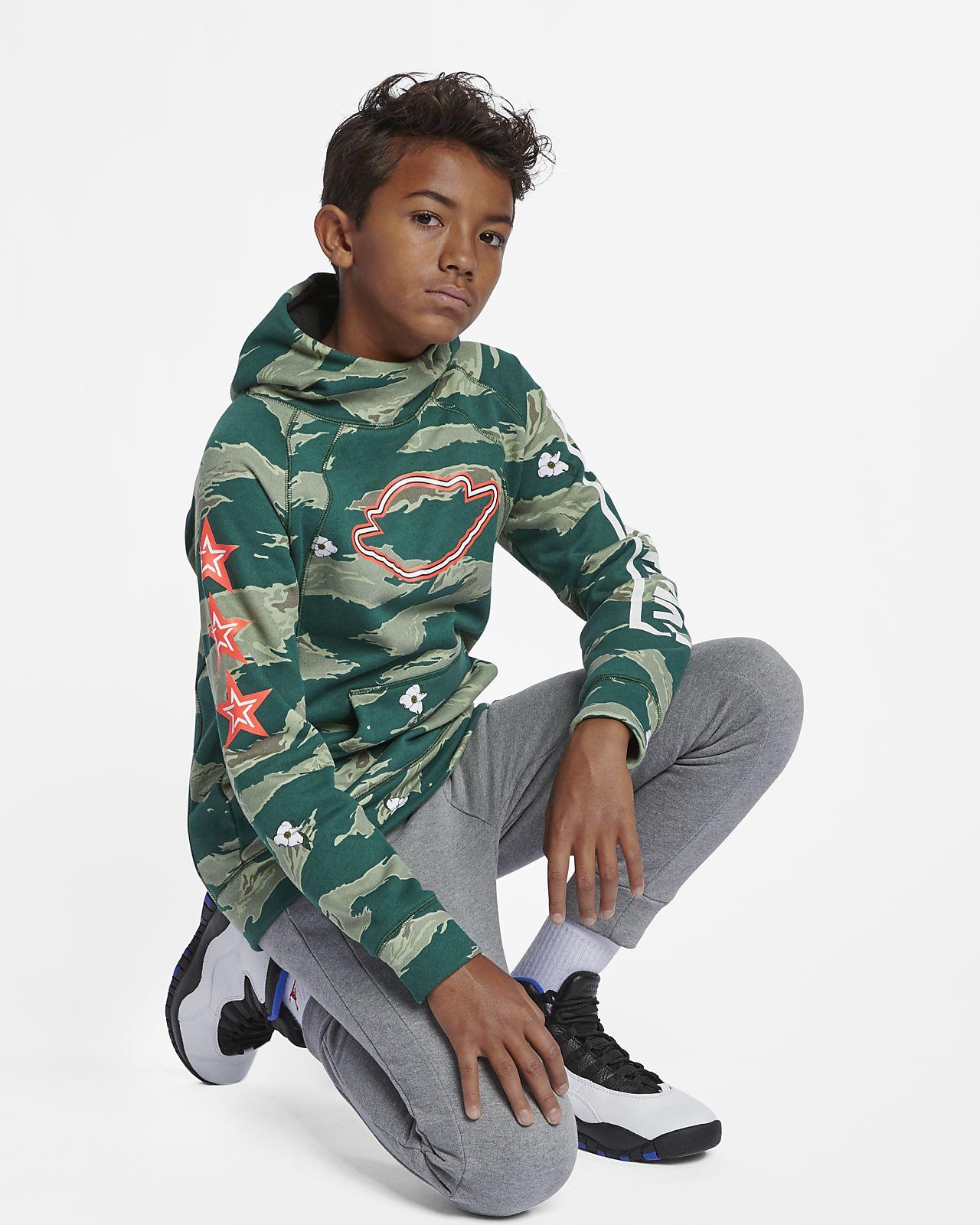 9b57bd96645 Jordan City of Flight Older Kids' (Boys') Pullover Hoodie. Nike.com GB