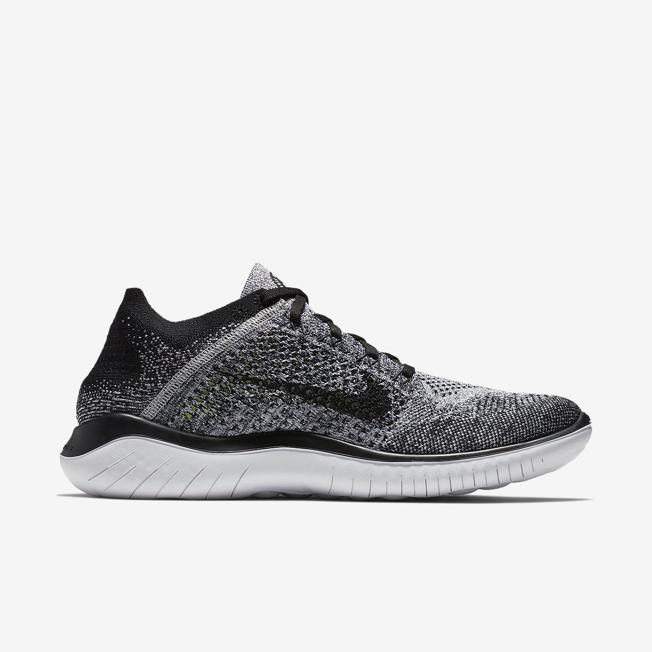 Nike Libre Rn Flyknit 2018 - Chaussures Pour Les Hommes / Noir Nike 82XvOMJRd