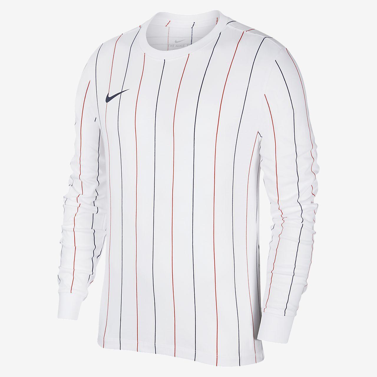 เสื้อยืดฟุตบอลแขนยาวผู้ชาย PSG