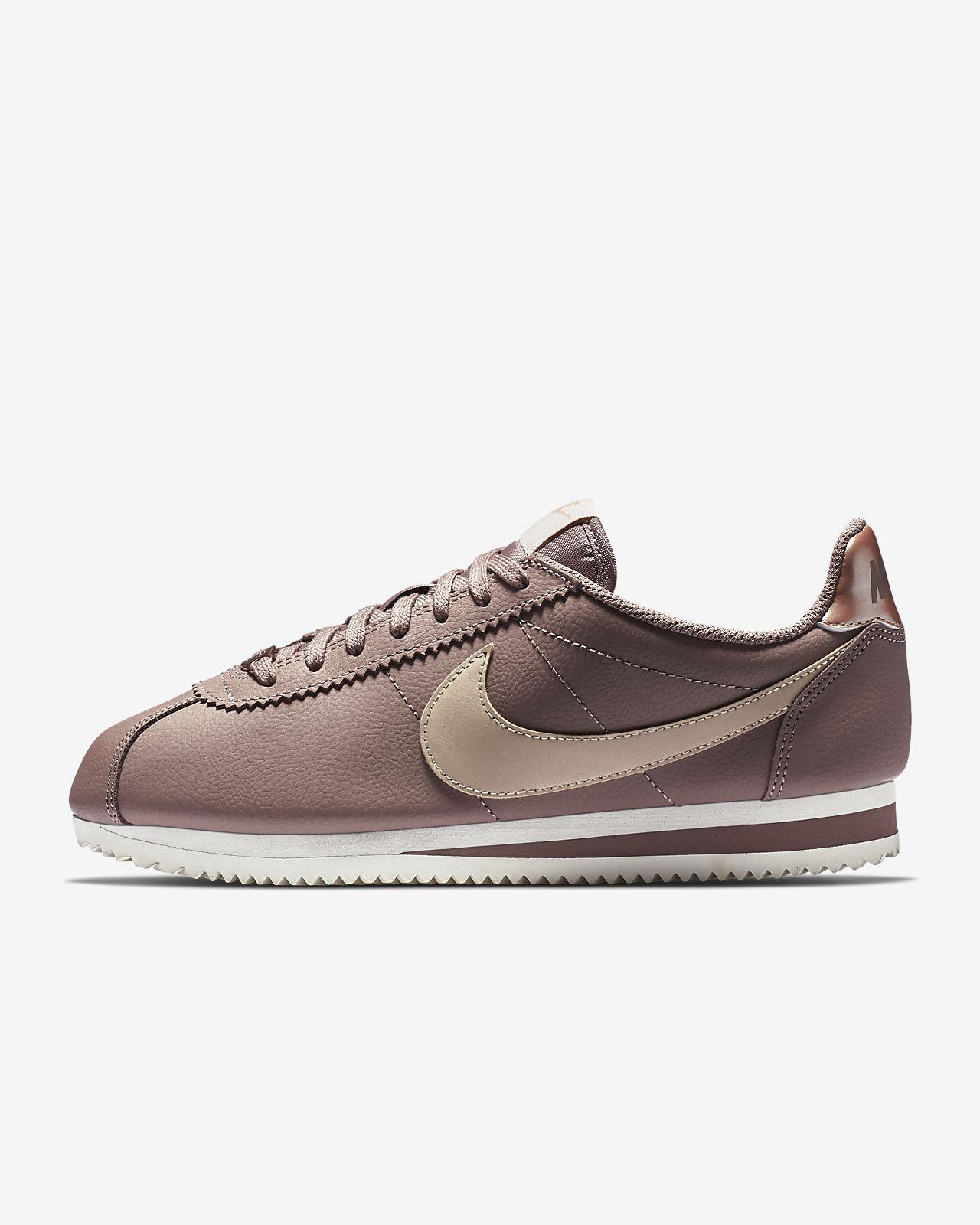 Leather Classic Pour Cortez Chaussure Fr Nike Femme t7q4wtxBg