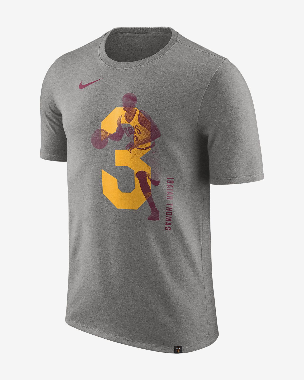 克利夫兰骑士队 (Isaiah Thomas) Nike Dri-FIT Player 男子 NBA T恤