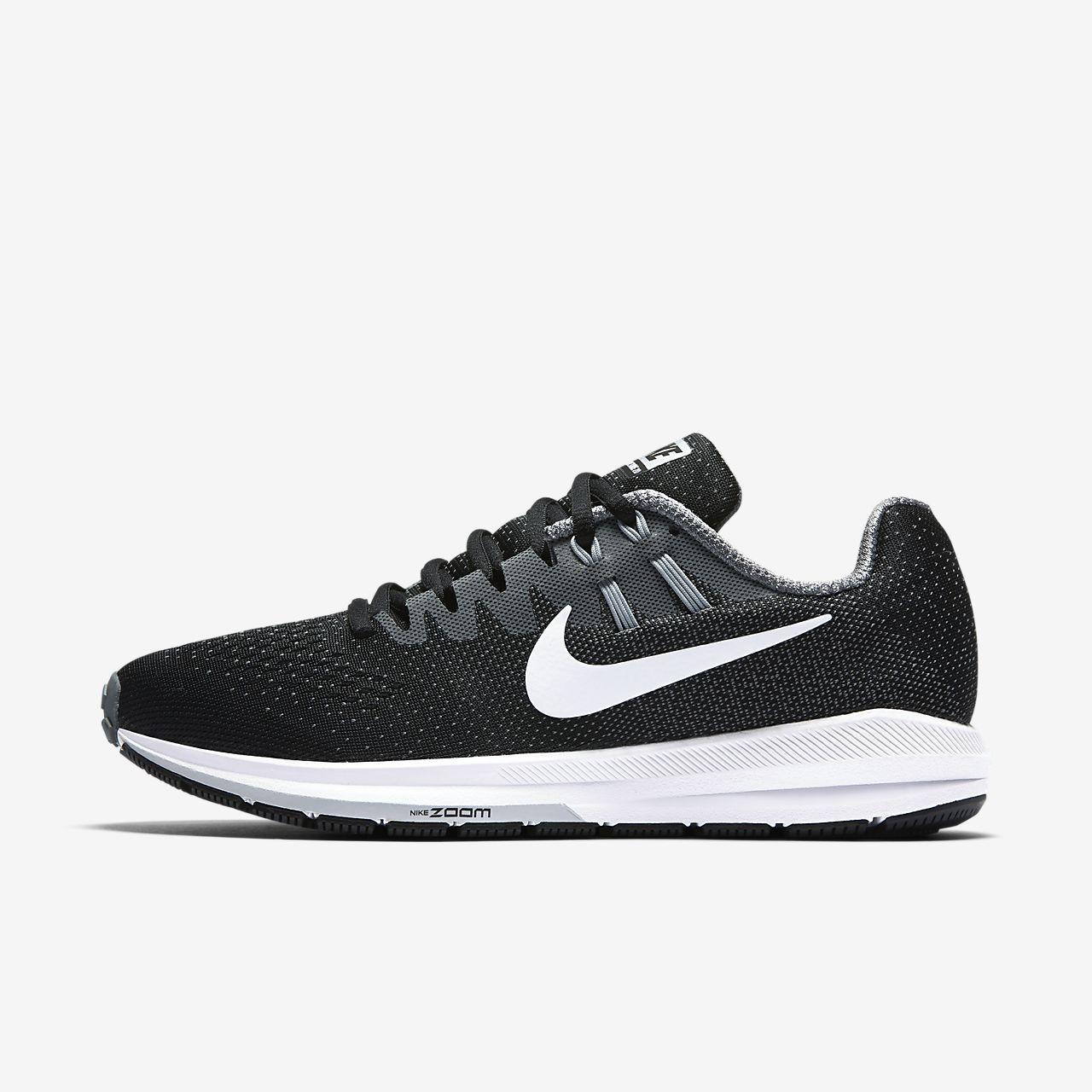 Nike - La Structure Zoom Air 20 Chaussures De Course - Hommes - Chaussures - Noir - 42,5