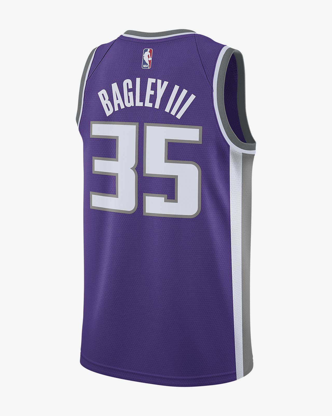 f231dfe63893 ... Marvin Bagley Iii Icon Edition Swingman (Sacramento Kings) Men s Nike  NBA Connected Jersey