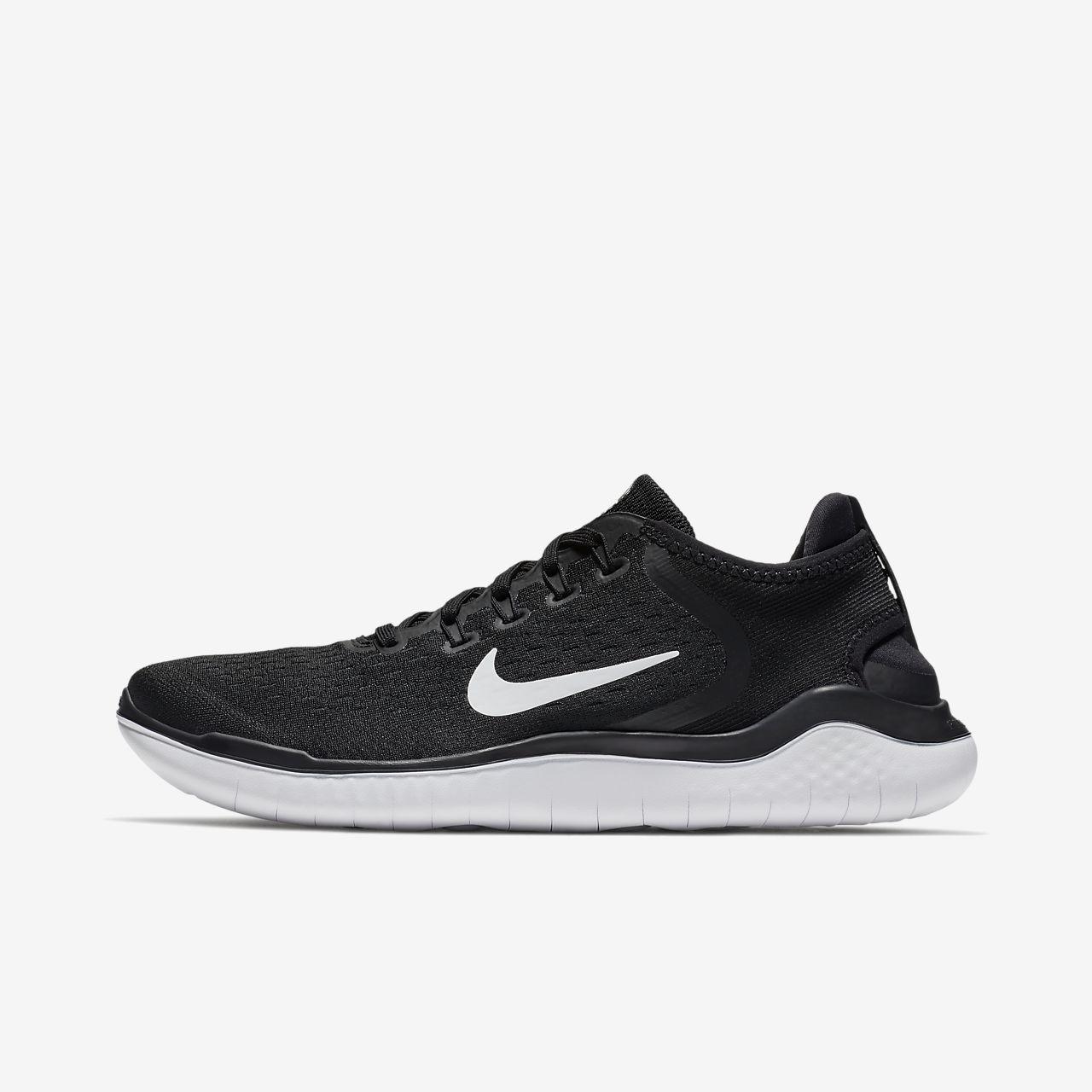 NIKE Free RN 2018 Scarpe Da Corsa Sneaker Scarpe da uomo Nero 942836 001