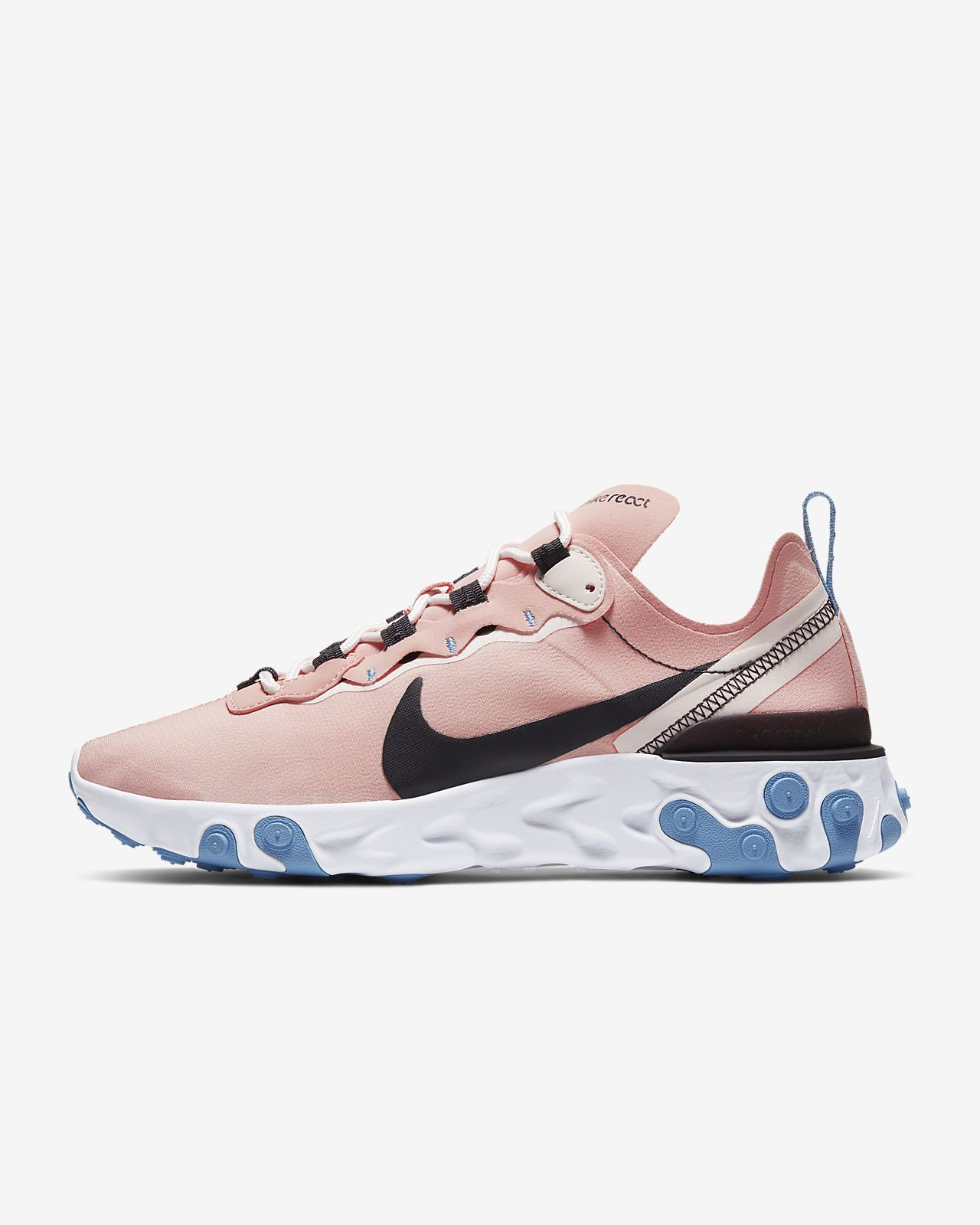 timeless design wide varieties arrives Chaussure Nike React Element 55 pour Femme. Nike BE