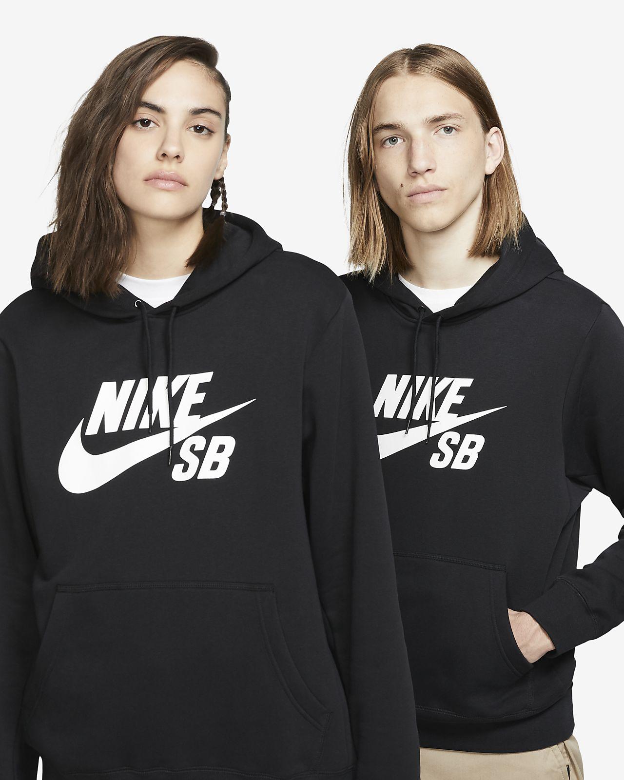 scontato Nike Felpe Pullover Donne Darkgrey Nero Nike