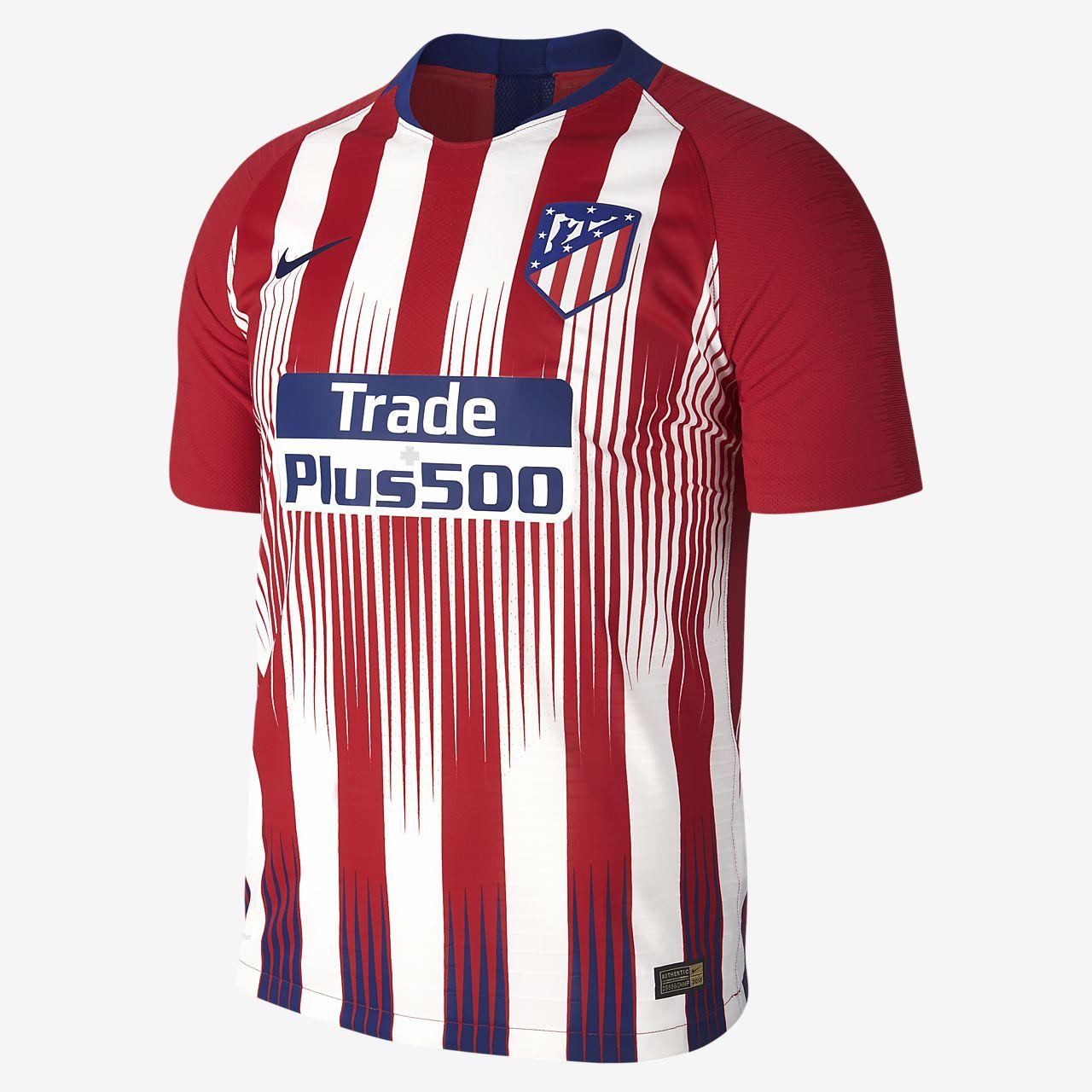 lowest price 0aadd d7528 ... Camiseta de fútbol para hombre de local Vapor Match del Atlético de  Madrid 2018 19