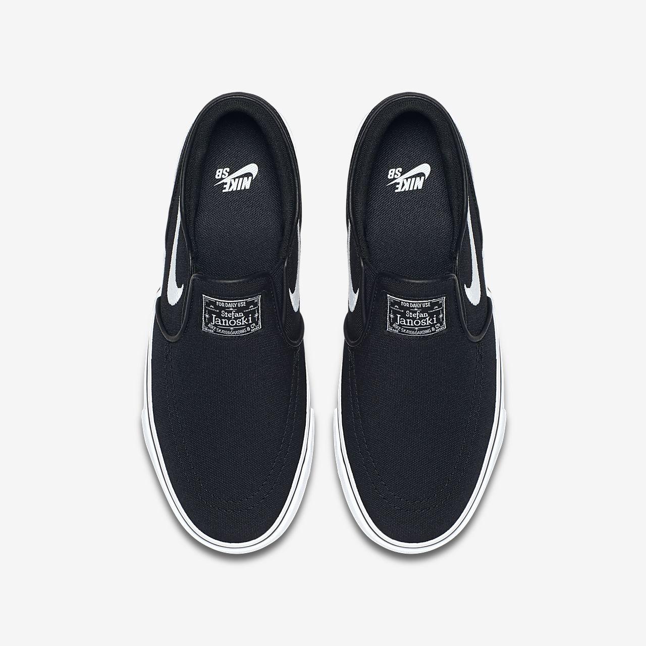 7d0fd45f3f5c Nike SB Stefan Janoski Canvas Slip-on Big Kids  Skateboarding Shoe ...