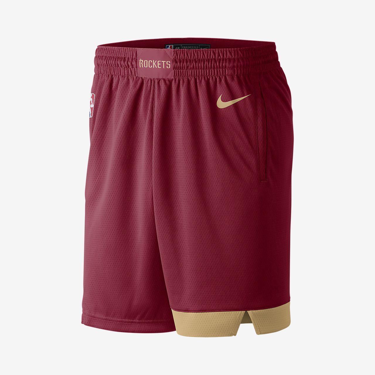 Short Nike NBA Houston Rockets City Edition Swingman pour Homme