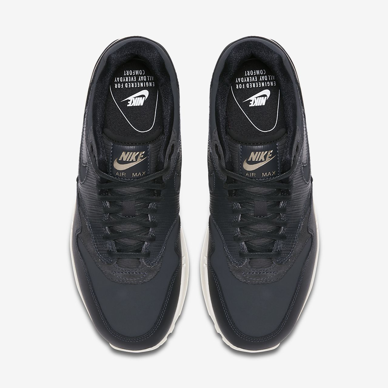 nike air max 1 premium womens black nz