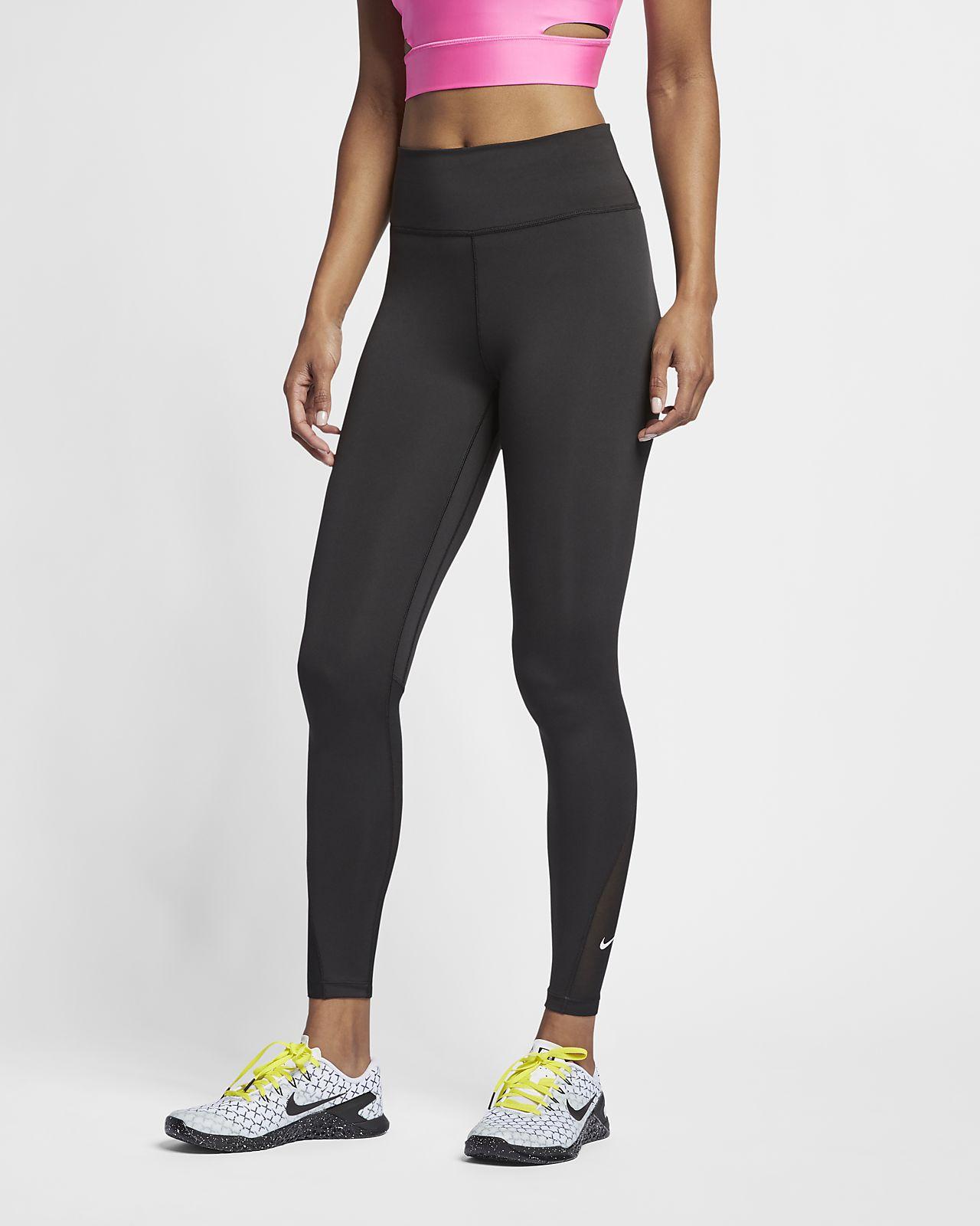 Mallas de 7/8 y tiro medio para mujer Nike One