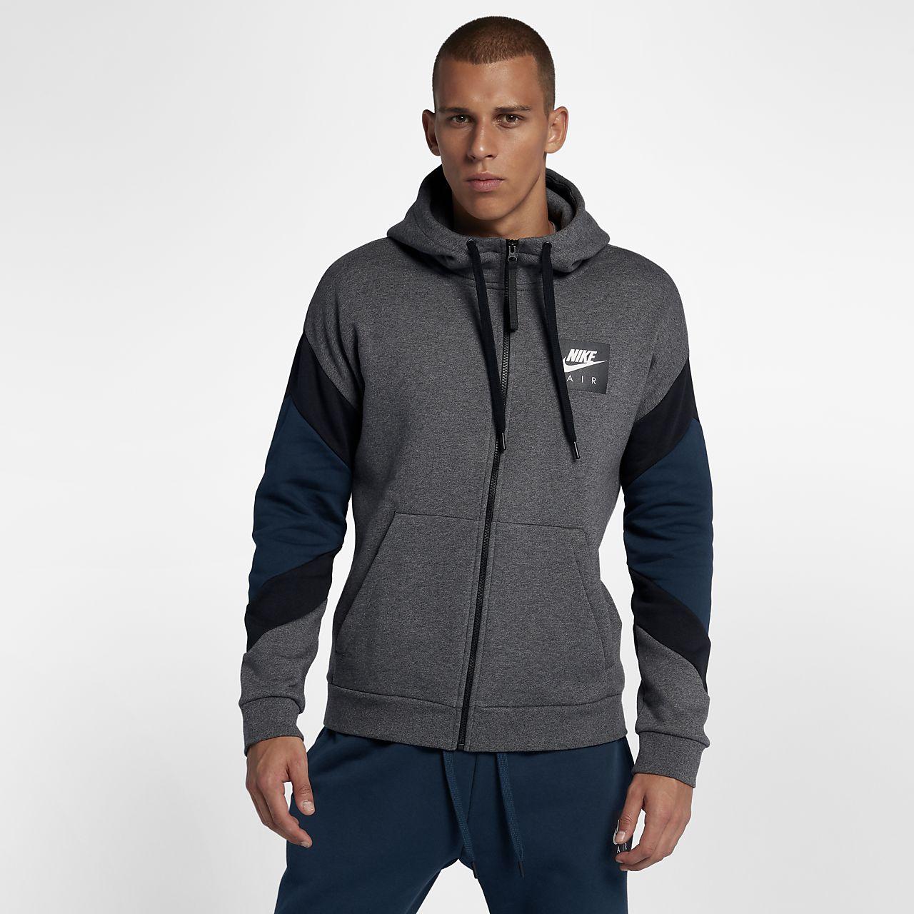 Nike Sportswear Air Herren-Hoodie mit durchgehendem Reißverschluss