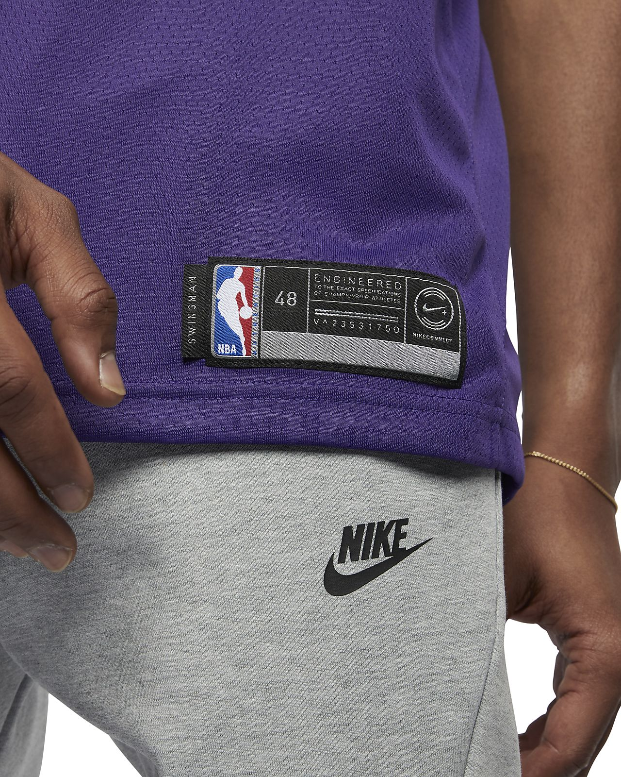 b4ca15447 ... Deandre Ayton Icon Edition Swingman (Phoenix Suns) Men s Nike NBA  Connected Jersey