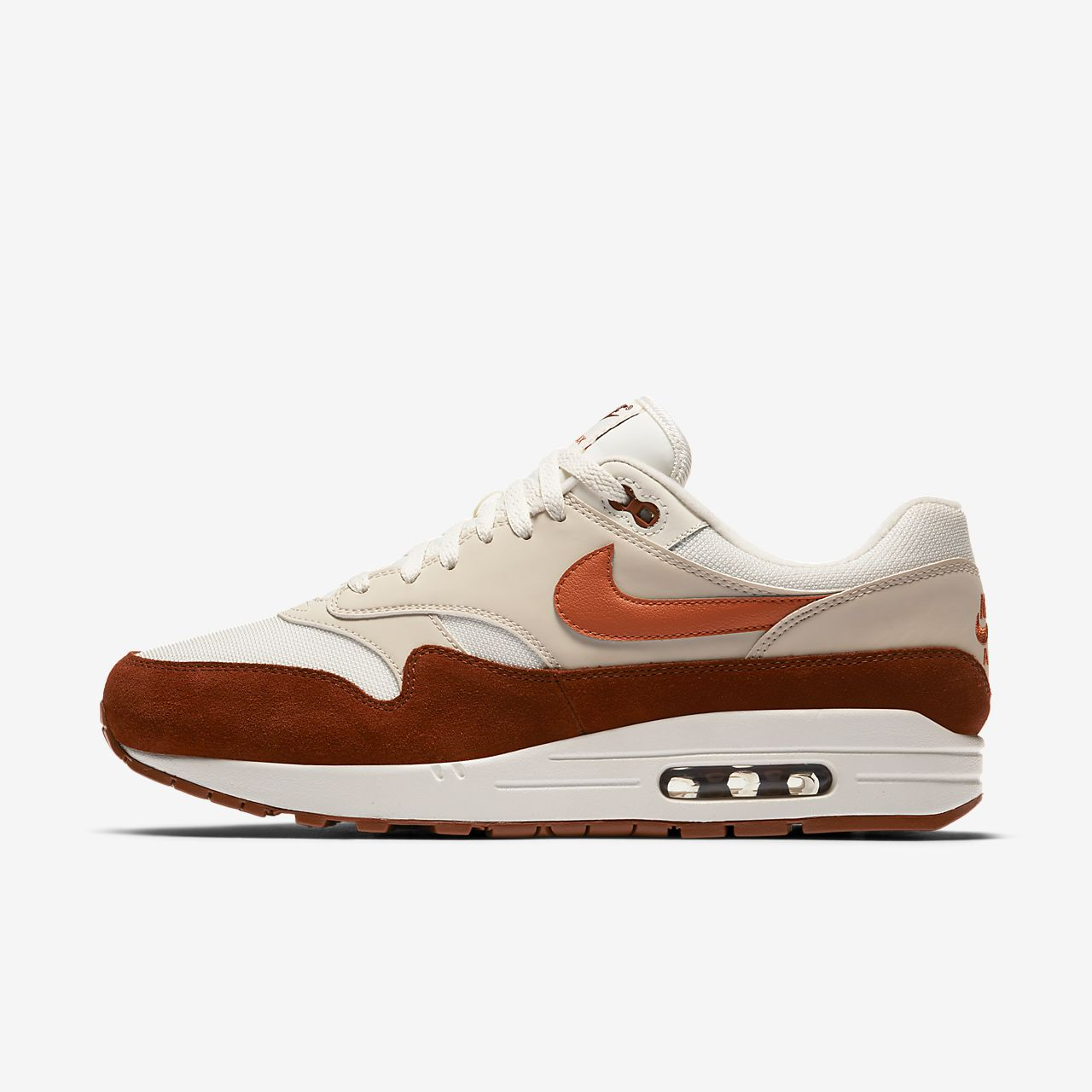 Chaussures Nike Air Max 1 bleues Urbaines homme qQ0cYSh3