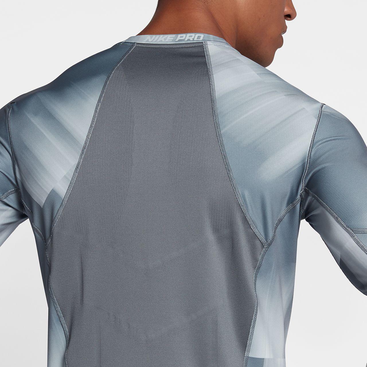 c64ec9542 Nike Pro Hyperwarm Mens Long Sleeve Shirt