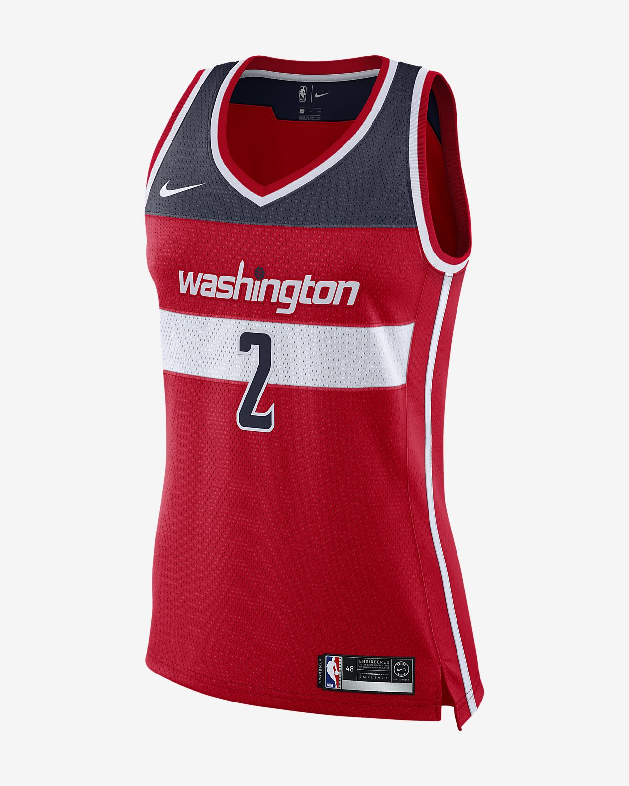 new product 198ca 7840d Women s Nike NBA Connected Jersey. John Wall Icon Edition Swingman (Washington  Wizards)