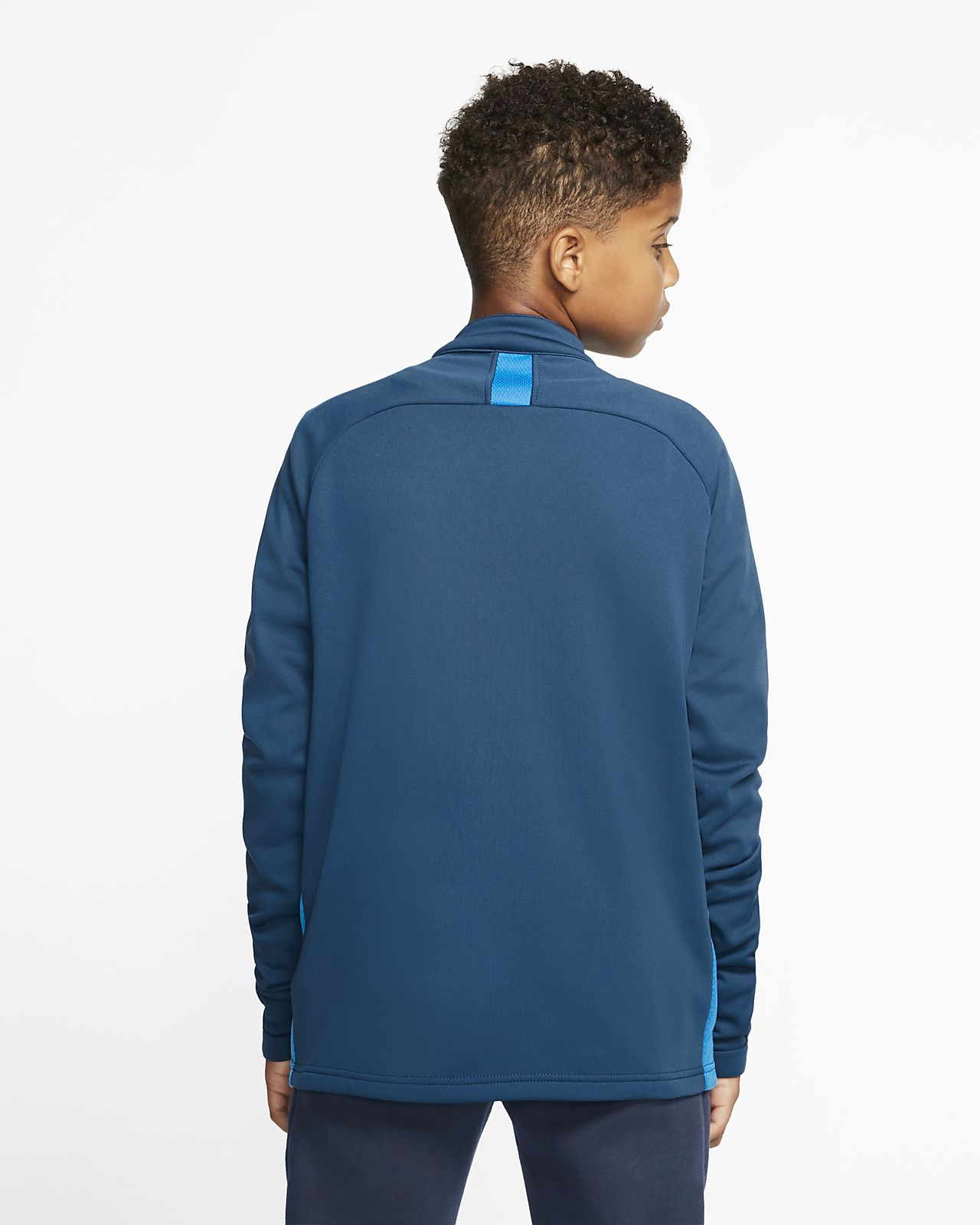 Nike Dry Academy 14 Zip Drill Top (BlackElectric Green)