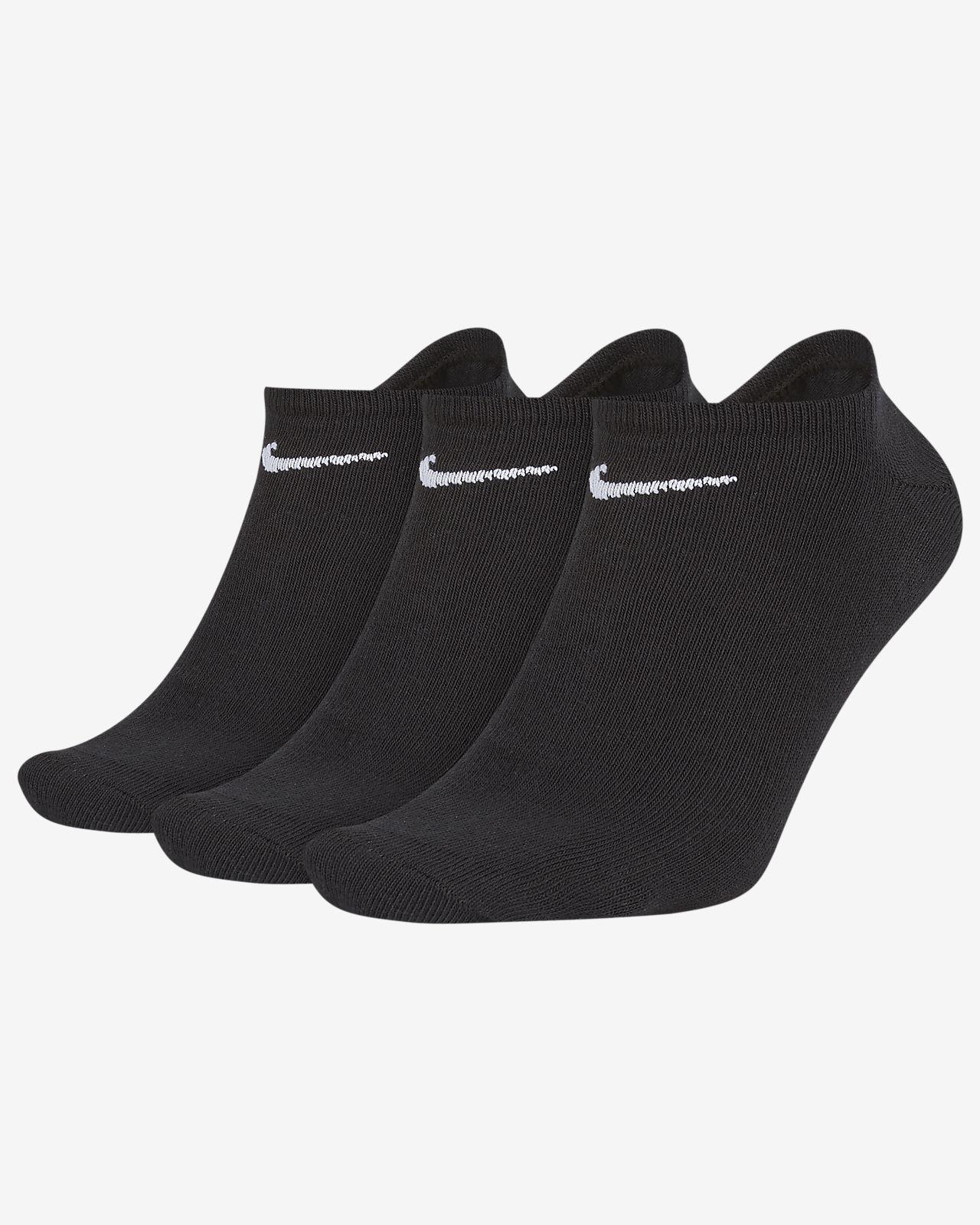 Nike Value No-Show Calcetines (3 pares)