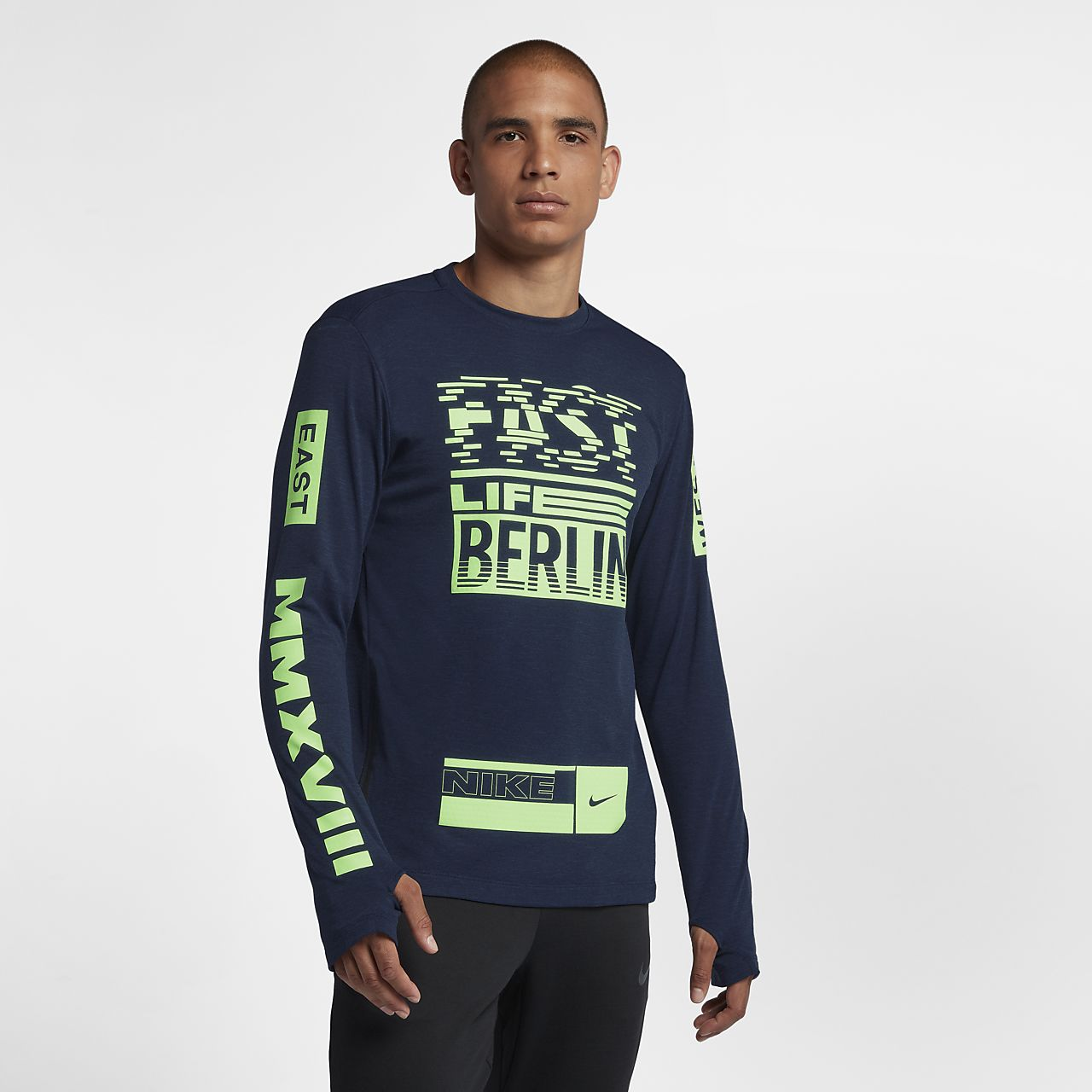 Nike Sphere (Berlin 2018) Men's Long-Sleeve Running Top