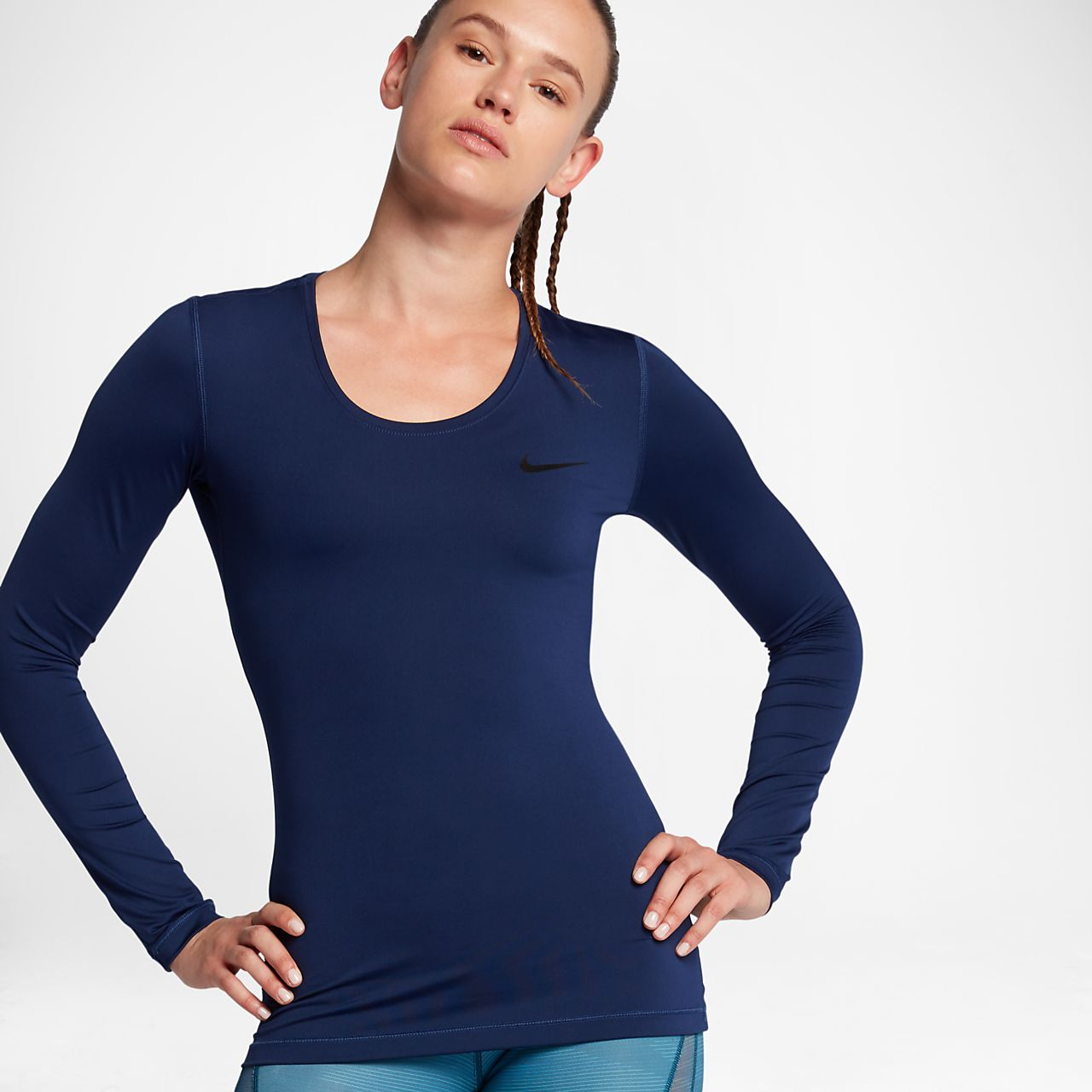 Nike Pro Women's Long Sleeve Training Top (Compressive Fit). Nike.com