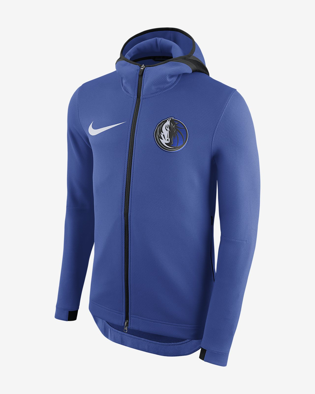 Dallas Mavericks Nike Therma Flex Showtime Men's NBA Hoodie