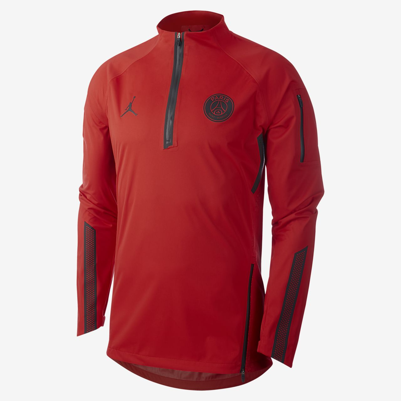 Ανδρική μακρυμάνικη ποδοσφαιρική μπλούζα PSG AeroShield Strike Drill