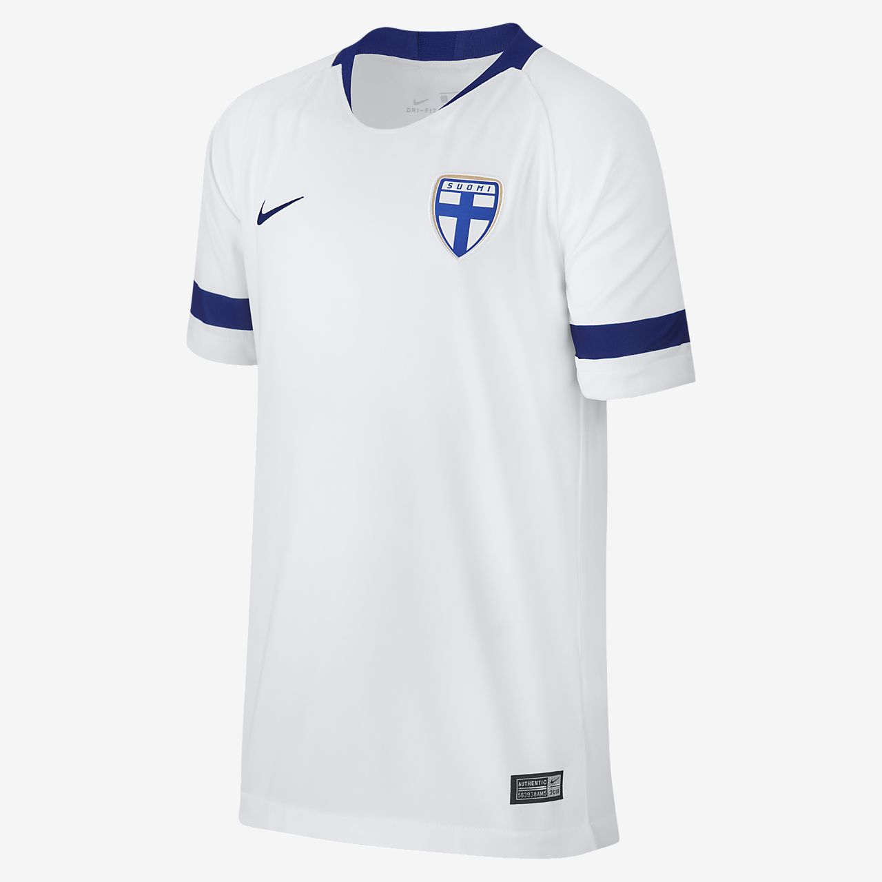 2018 Finland Stadium Home Older Kids' Football Shirt