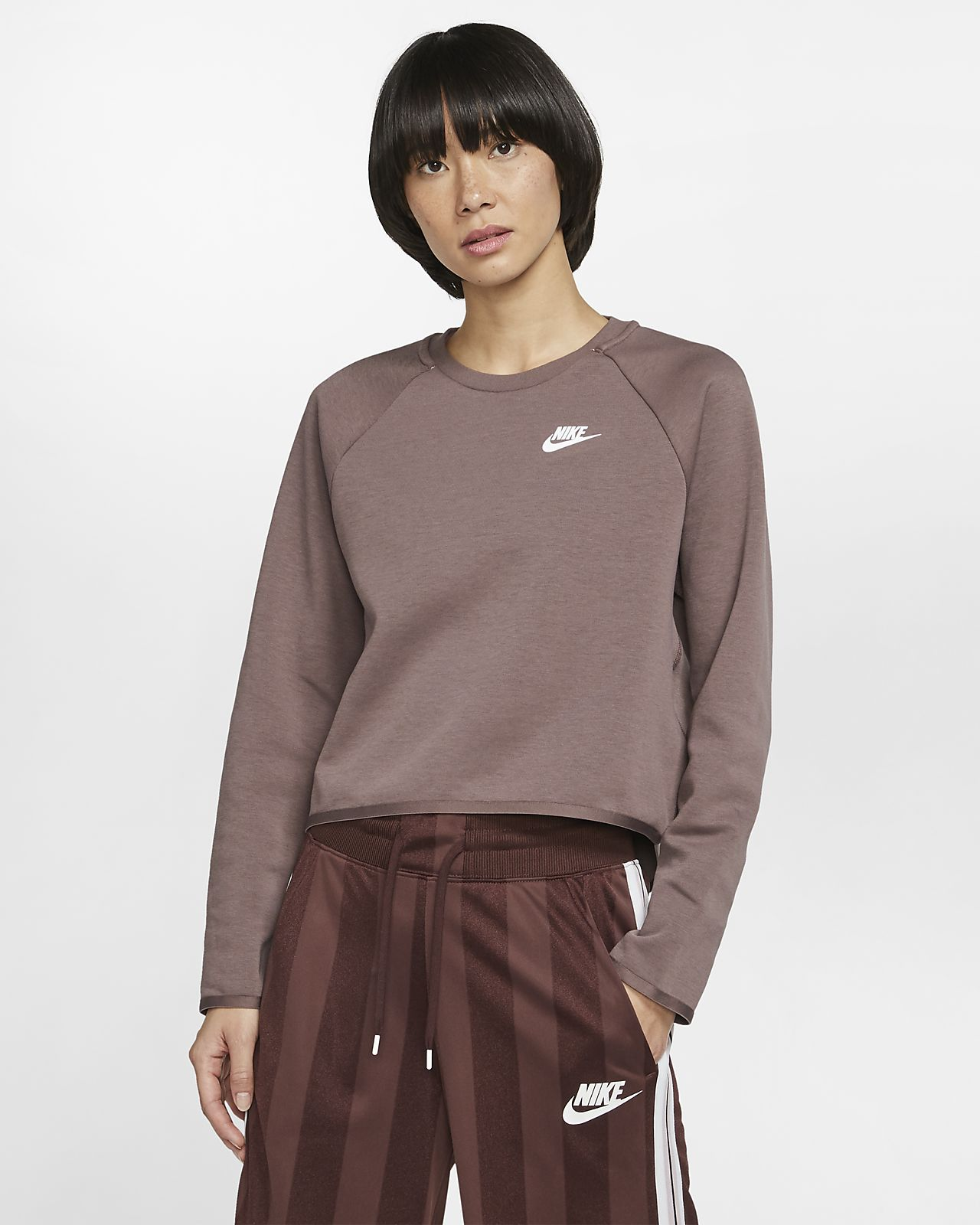 Nike Sportswear Tech Fleece Damen Rundhalsshirt