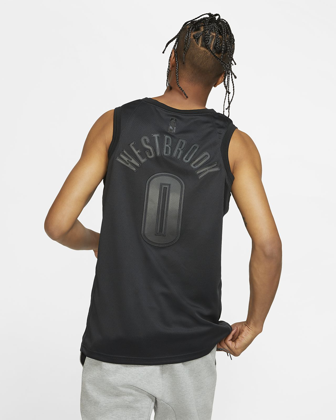 best service 76631 18700 Russell Westbrook MVP Swingman (Oklahoma City Thunder) Men's Nike NBA  Connected Jersey