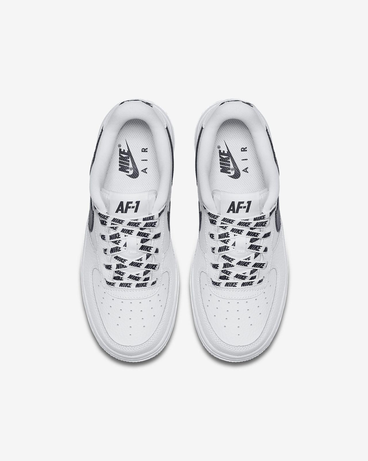 Chaussures Nike Air Force 1 blanches garçon w3qsforIP