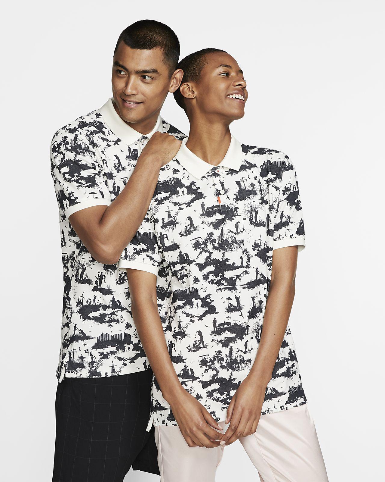Nike 男子修身版型翻领T恤