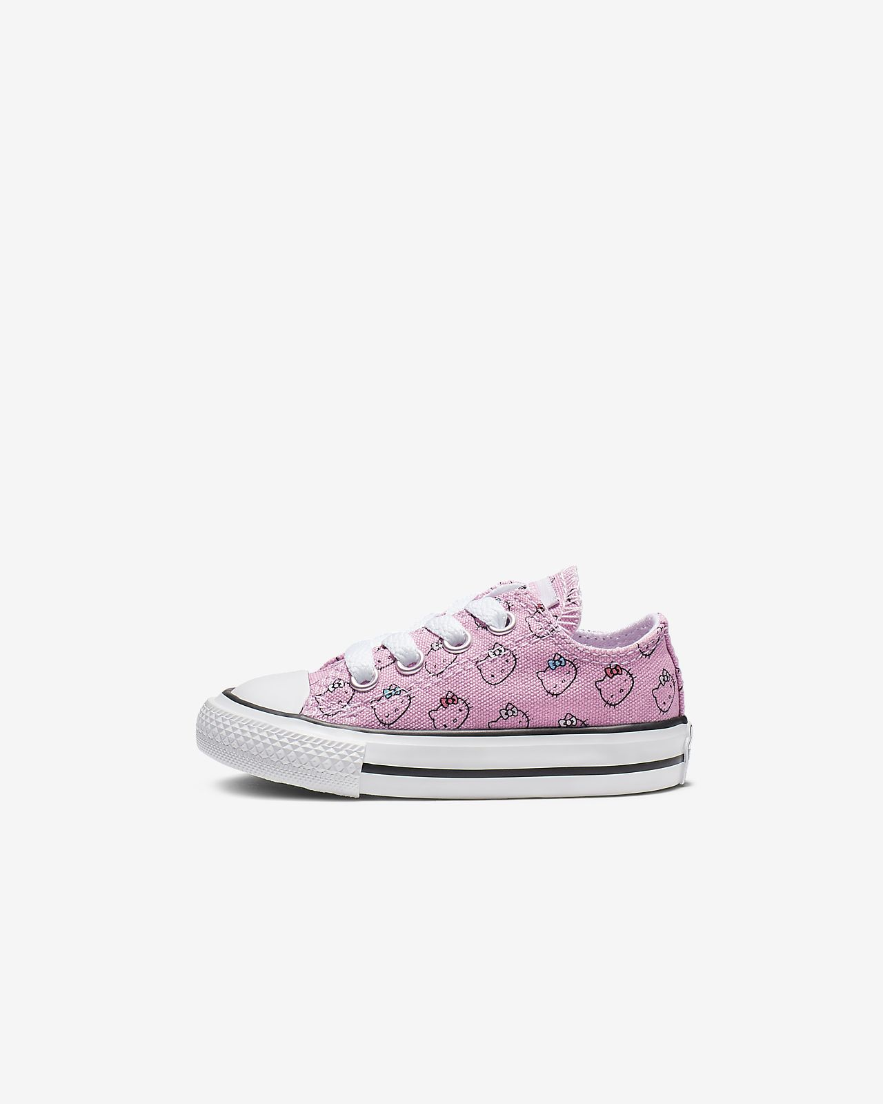 Converse x Hello Kitty Chuck Taylor All Star Low Top Baby Shoe