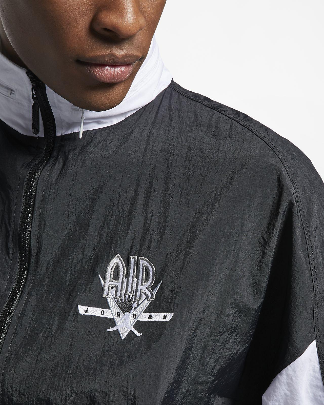 8cf79eca28c ... Jordan Legacy Flight Nostalgia AJ 9 (Loose Fit) Men's Retro Jacket