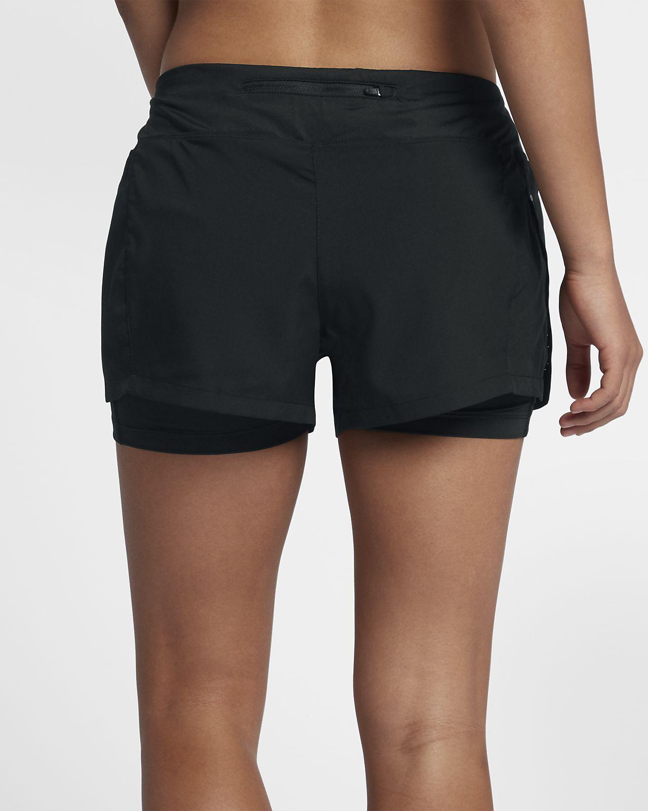 Eclipse mujer Nike deportivos para Pantalones cortos LqMUSzVpG