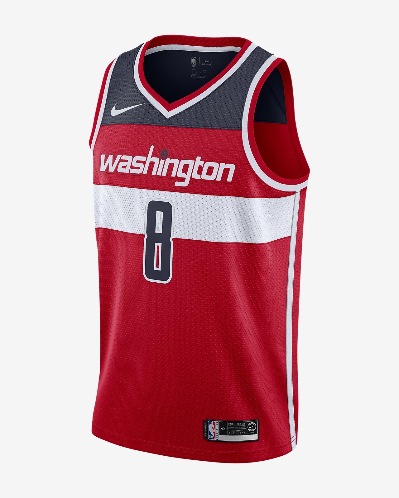Rui Hachimura Wizards Icon Edition Nike NBA Swingman Jersey för män