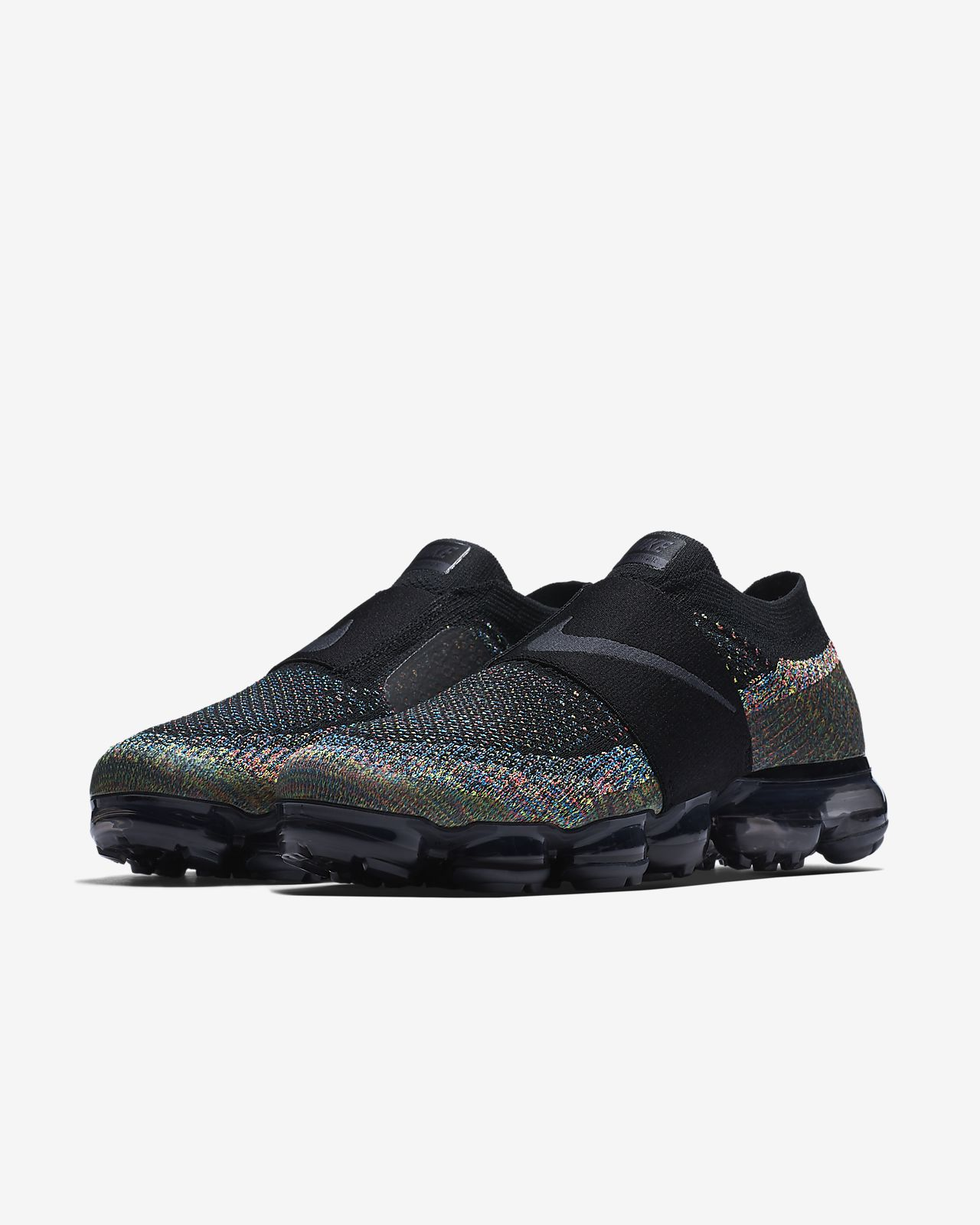 Nike Sportswear  Air Vapormax Flyknit MOC - Black/Anthracite/Volt/Hot Punch